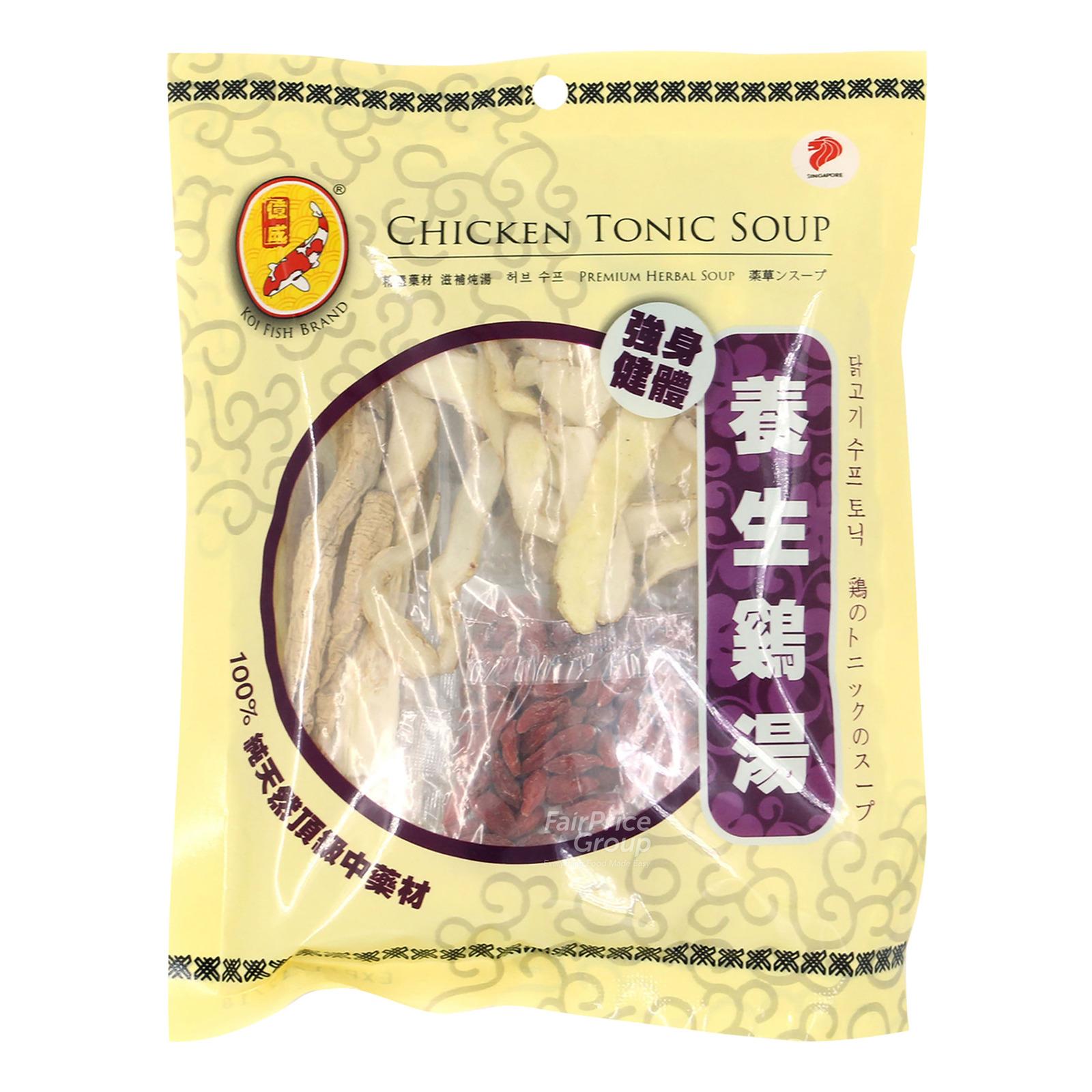 Koi Fish Brand Herbal Soup - Chicken Tonic