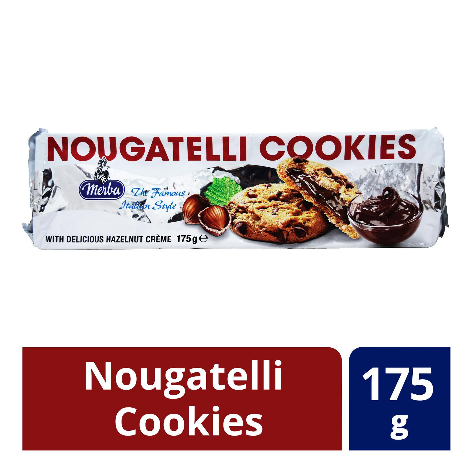 Merba Original Cookies - Nougatelli Cookies
