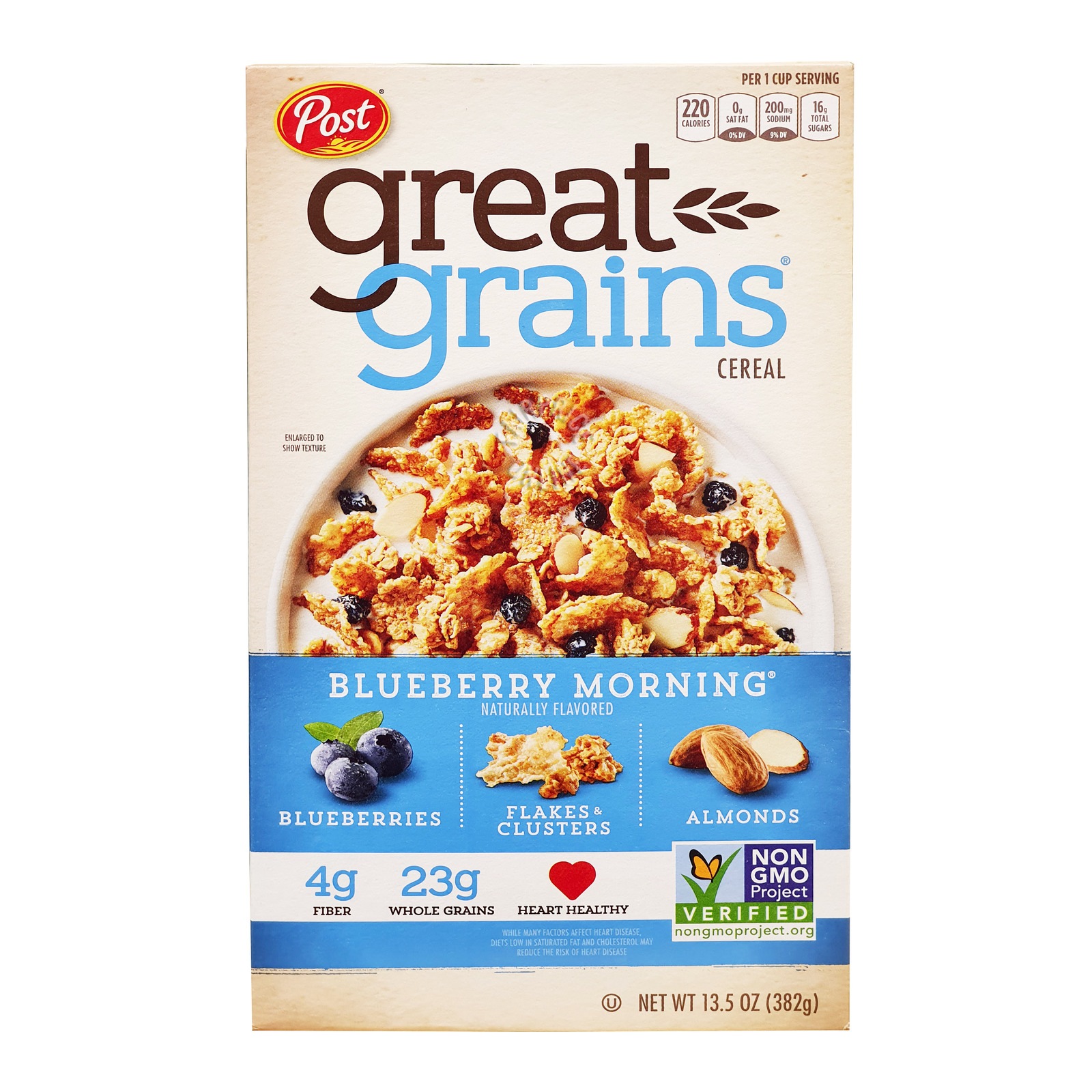 Post Great Grains Cereal - Blueberry Morning