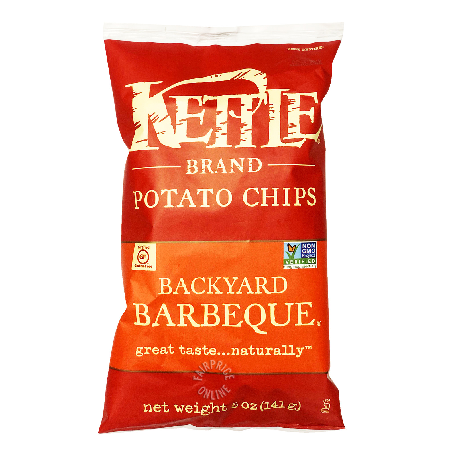 Kettle Brand Potato Chips - Backyard Barbeque