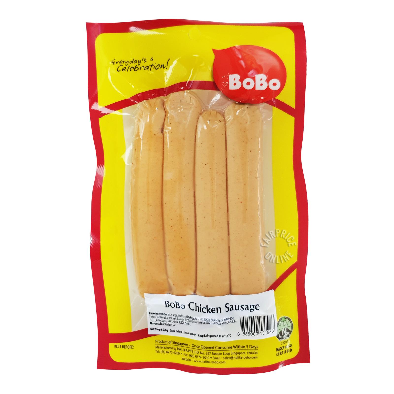 BoBo Frozen Chicken Sausage