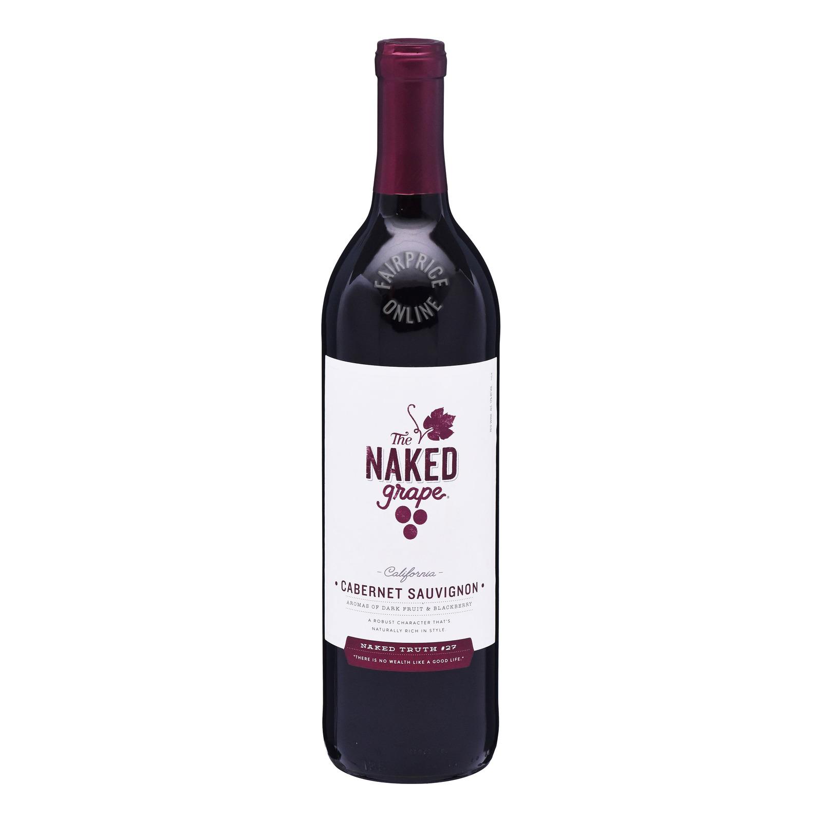 The Naked Grape Red Wine - Cabernet Sauvignon