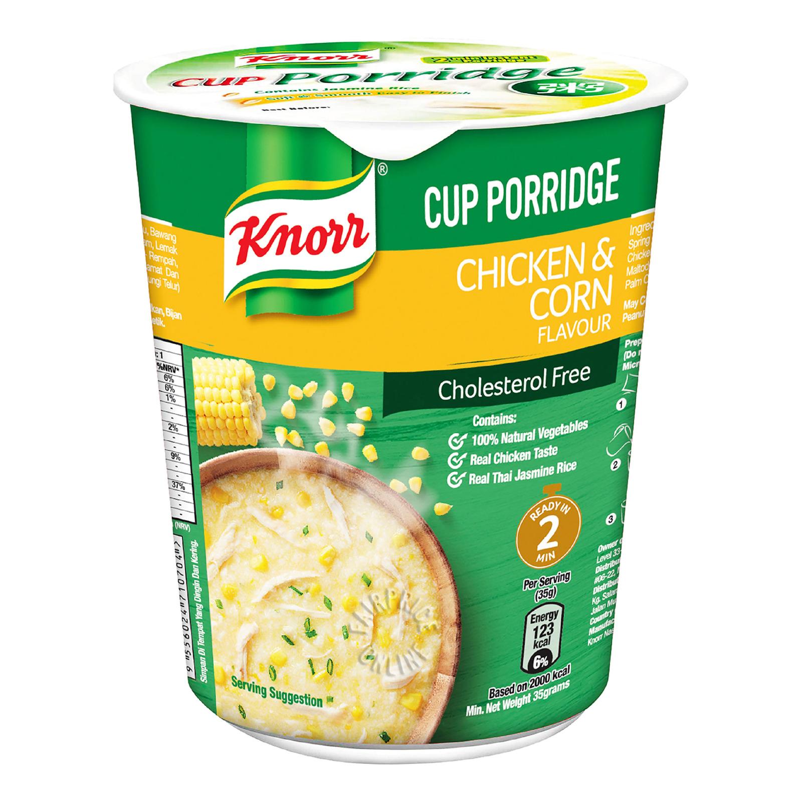 Knorr Instant Cup Porridge - Chicken & Corn