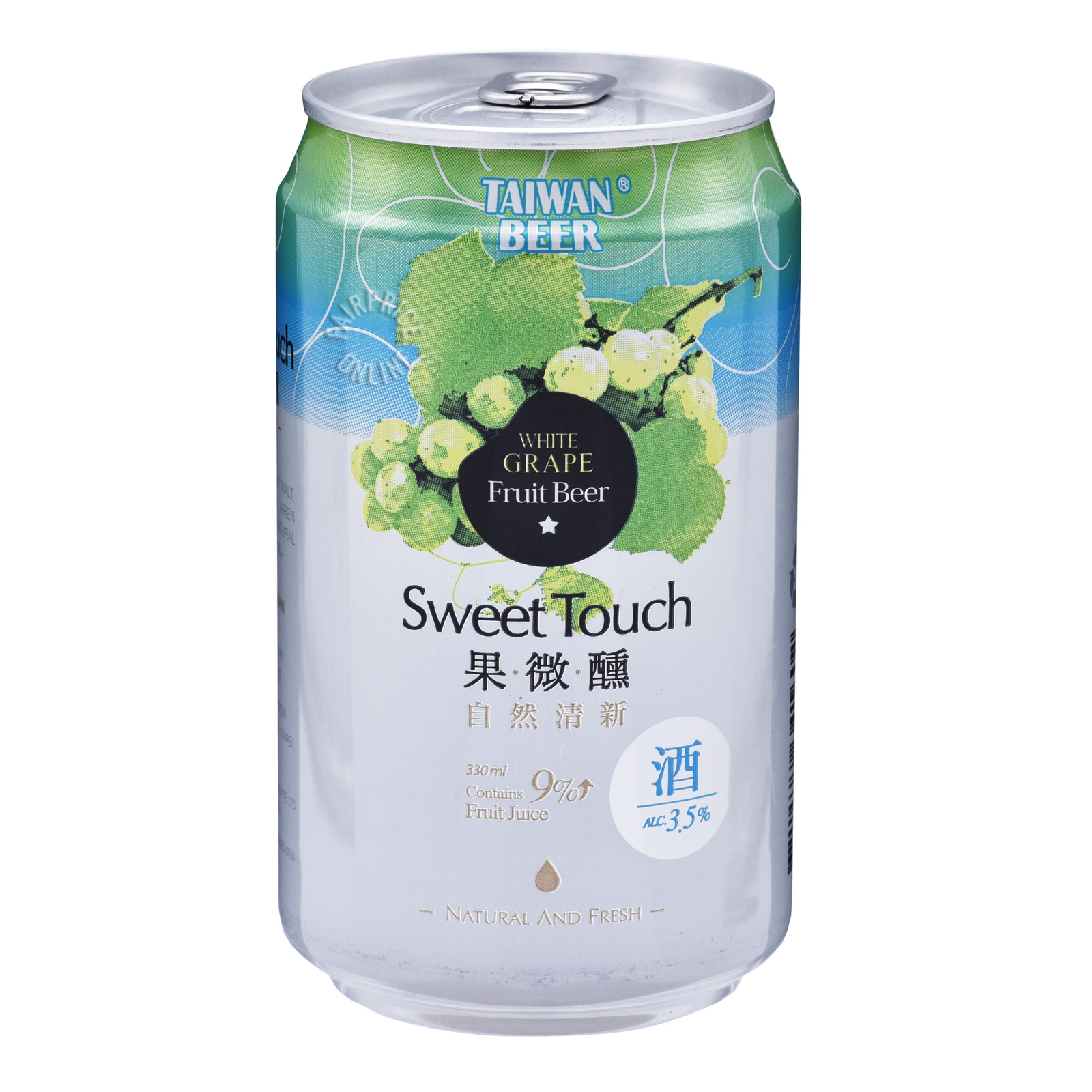 Taiwan Sweet Touch Fruit Can Beer - White Grape