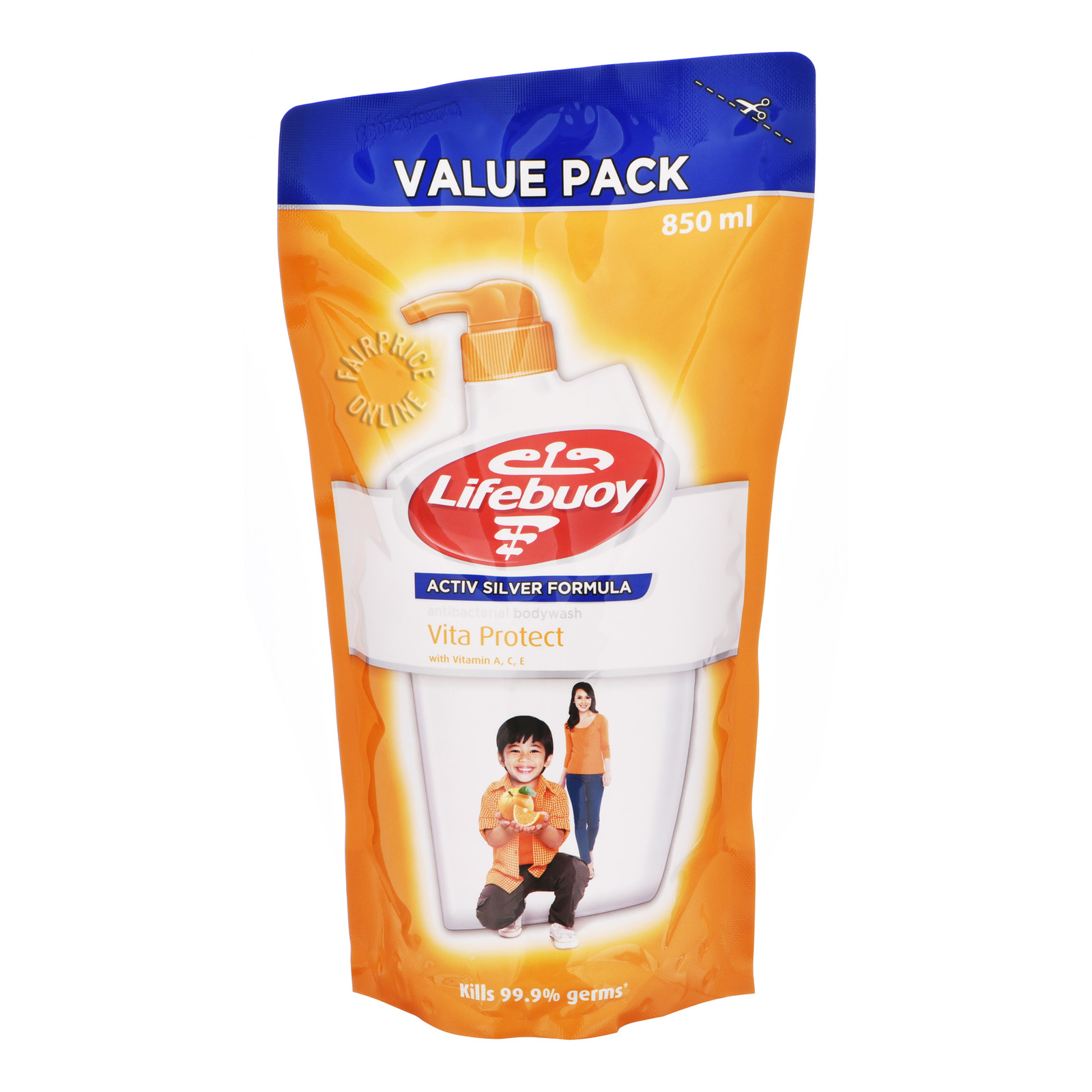 Lifebuoy Antibacterial Body Wash Refill - Vita Protect