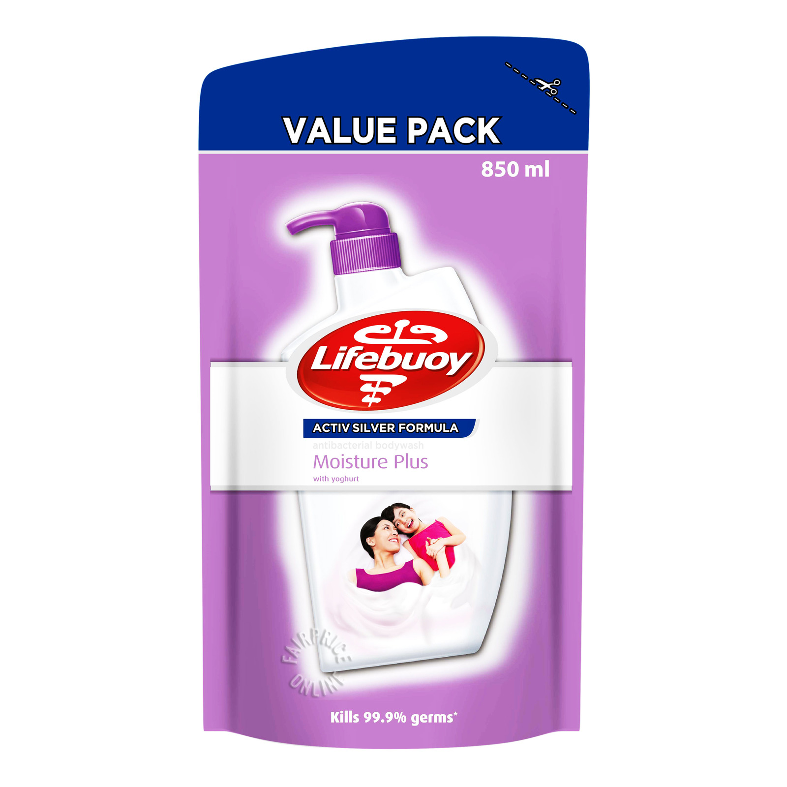Lifebuoy Antibacterial Body Wash Refill - Moisture Plus