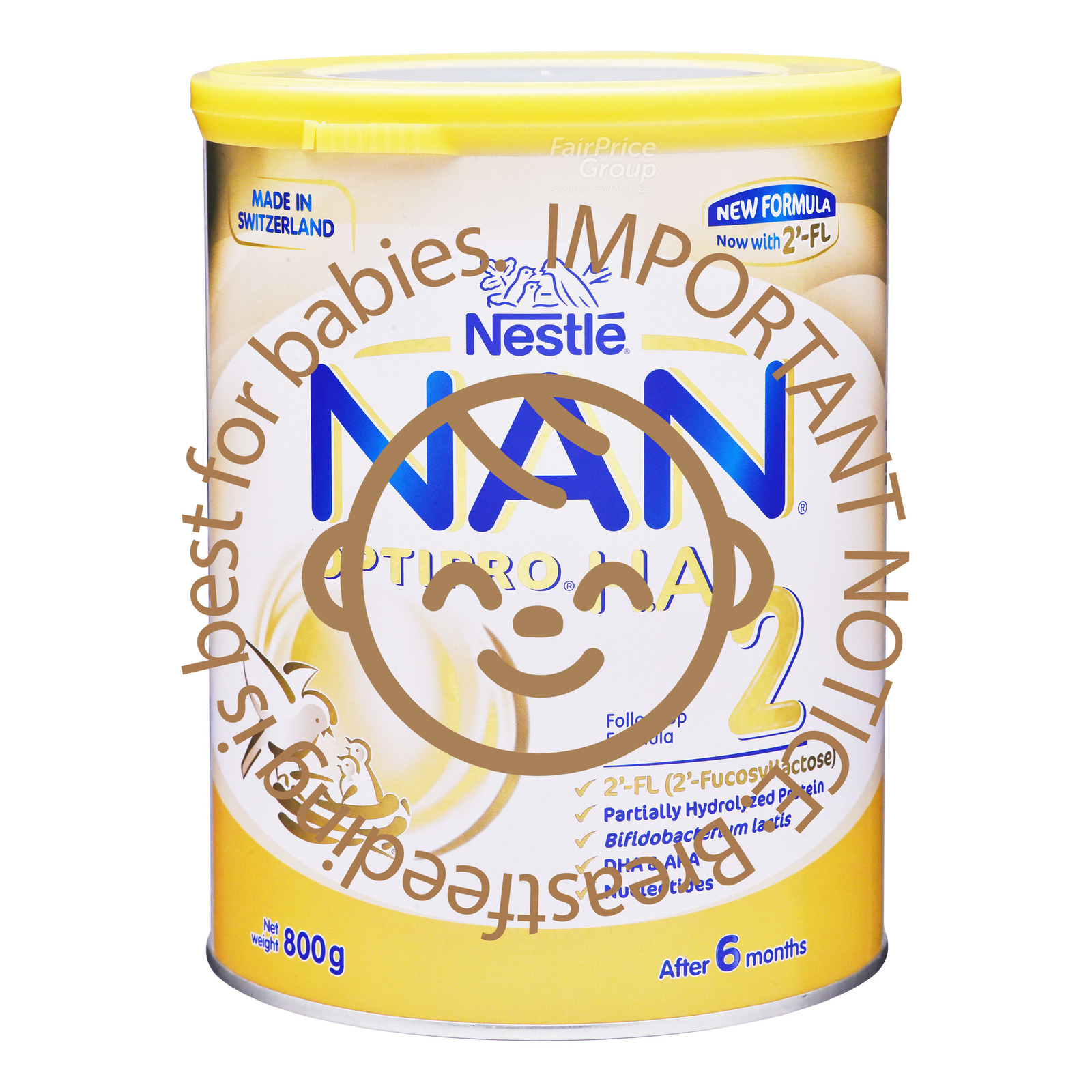 NESTLE NAN® optipro ha stage 2 hypoallergenic follow up formula after 6 months 800g