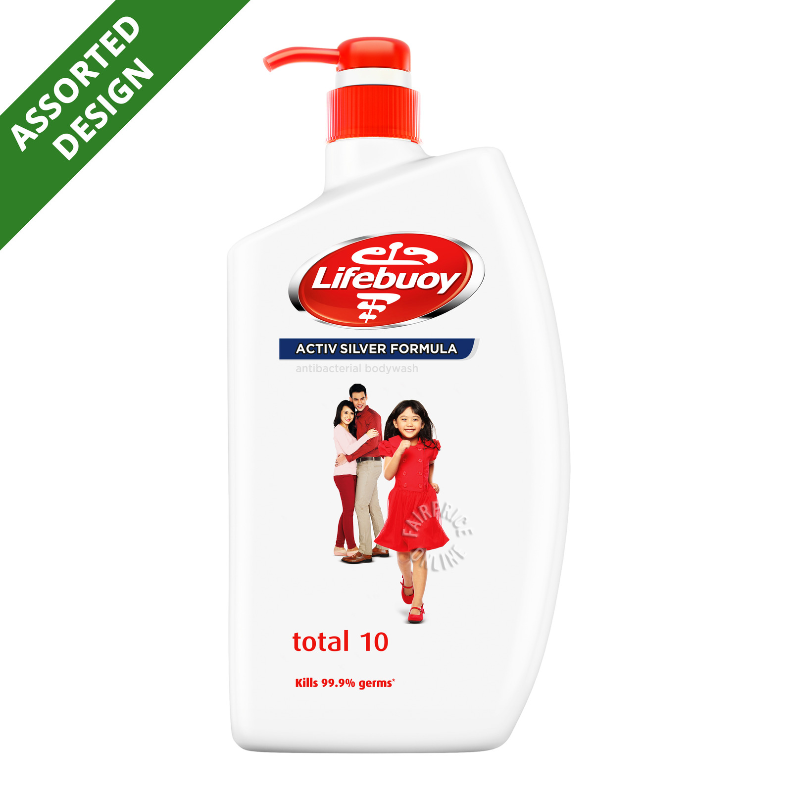 Lifebuoy Antibacterial Body Wash Total 10, 1L