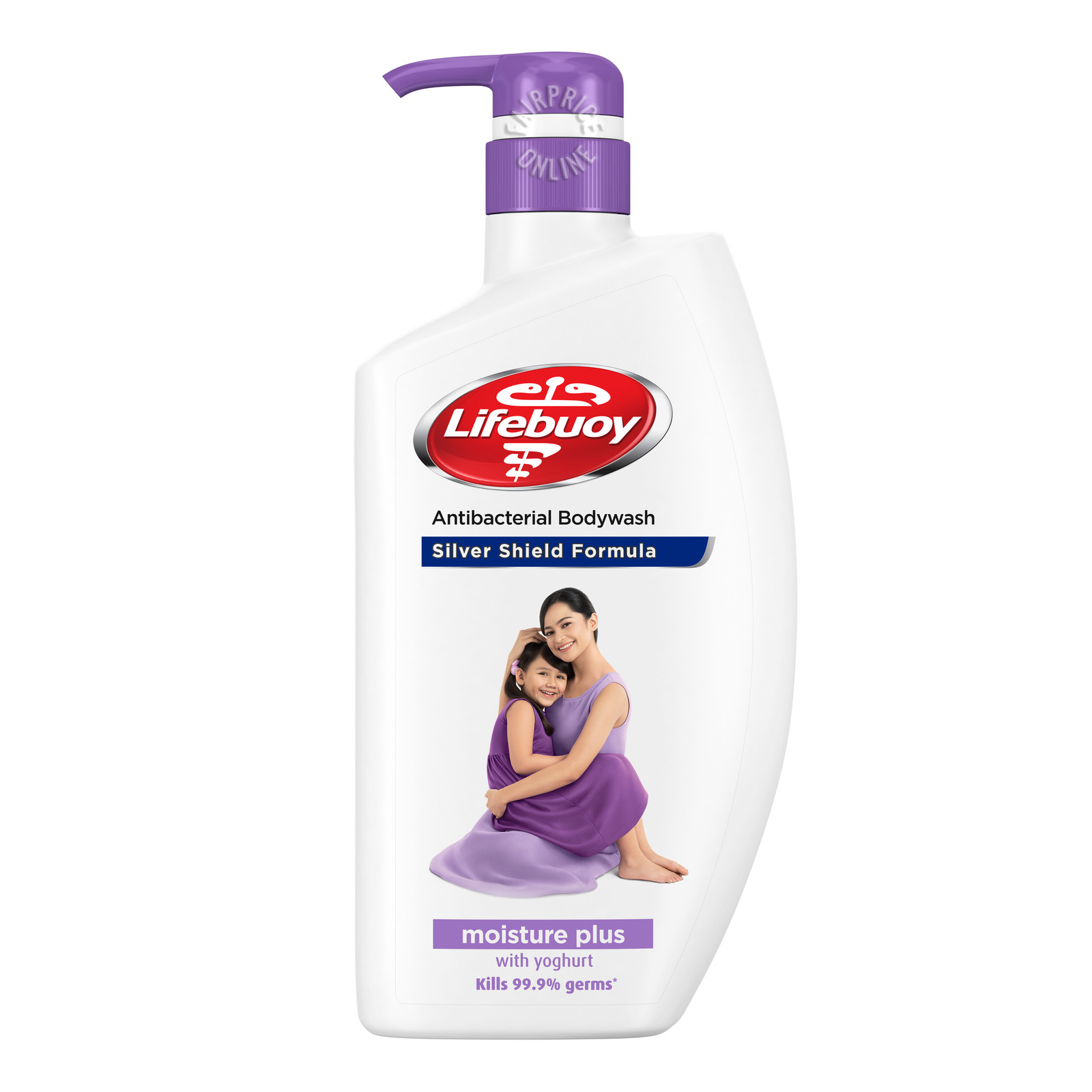 Lifebuoy Antibacterial Body Wash Moisture Plus, 1L