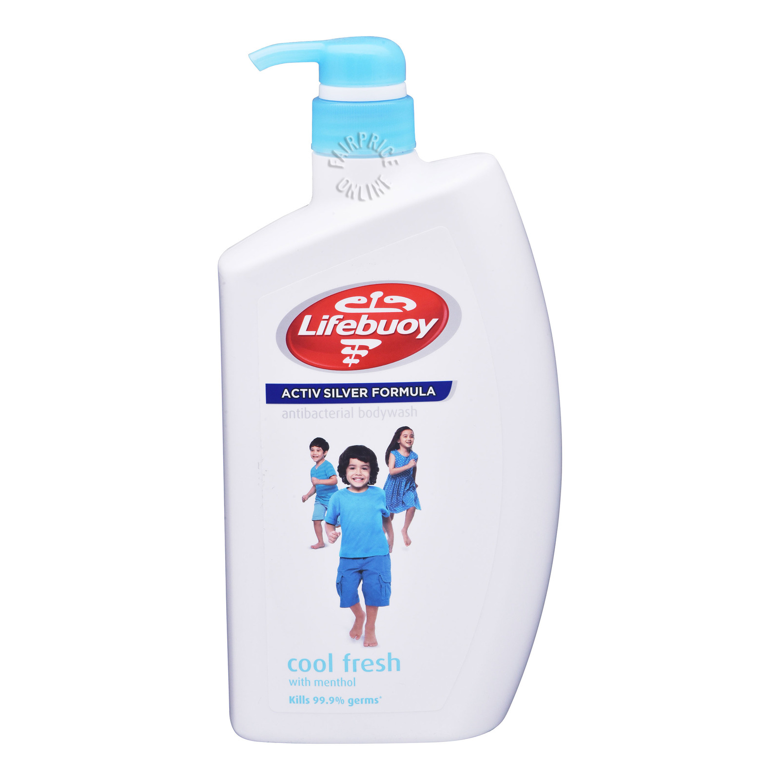 Lifebuoy Antibacterial Body Wash Cool Fresh, 1L