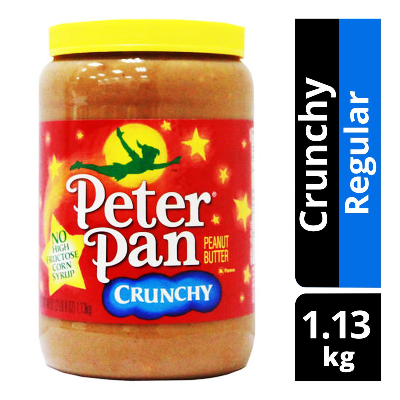 Peter Pan Crunchy Peanut Butter - Regular