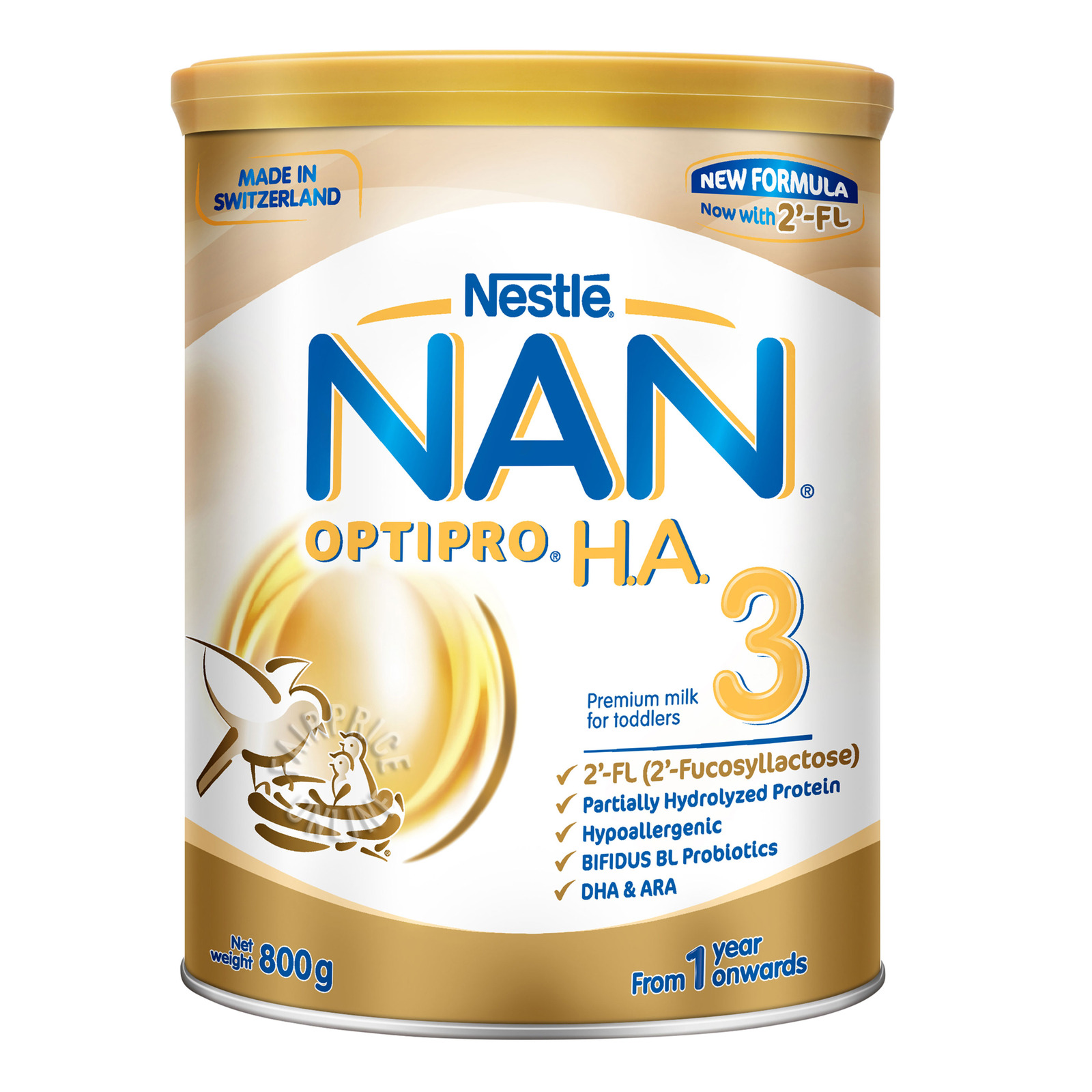 Nestle Nan Optipro HA Growing Up Milk Formula - Stage 3