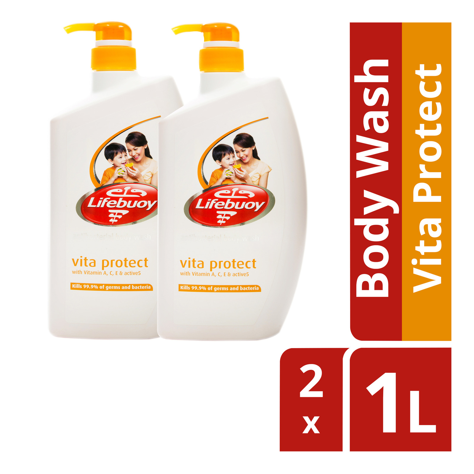 Lifebuoy Antibacterial Body Wash - Vita Protect