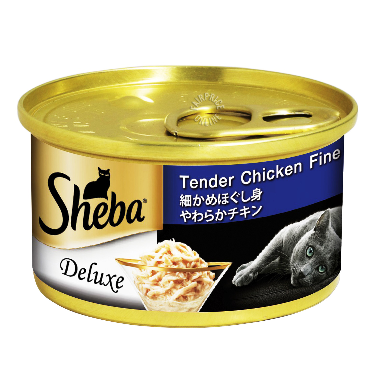 Sheba Cat Can Food - Tender Chicken Fine Flakes