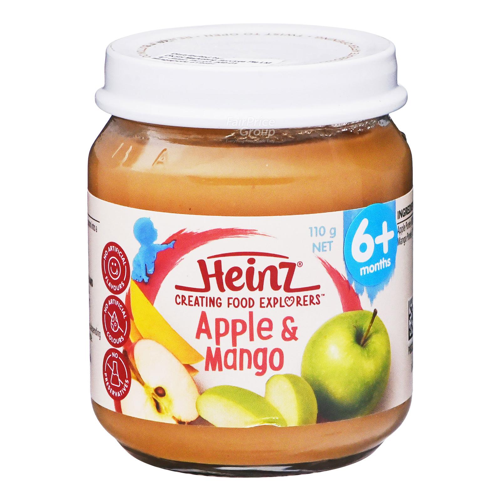 Heinz Baby Food - Apple & Mango (6+ Months)