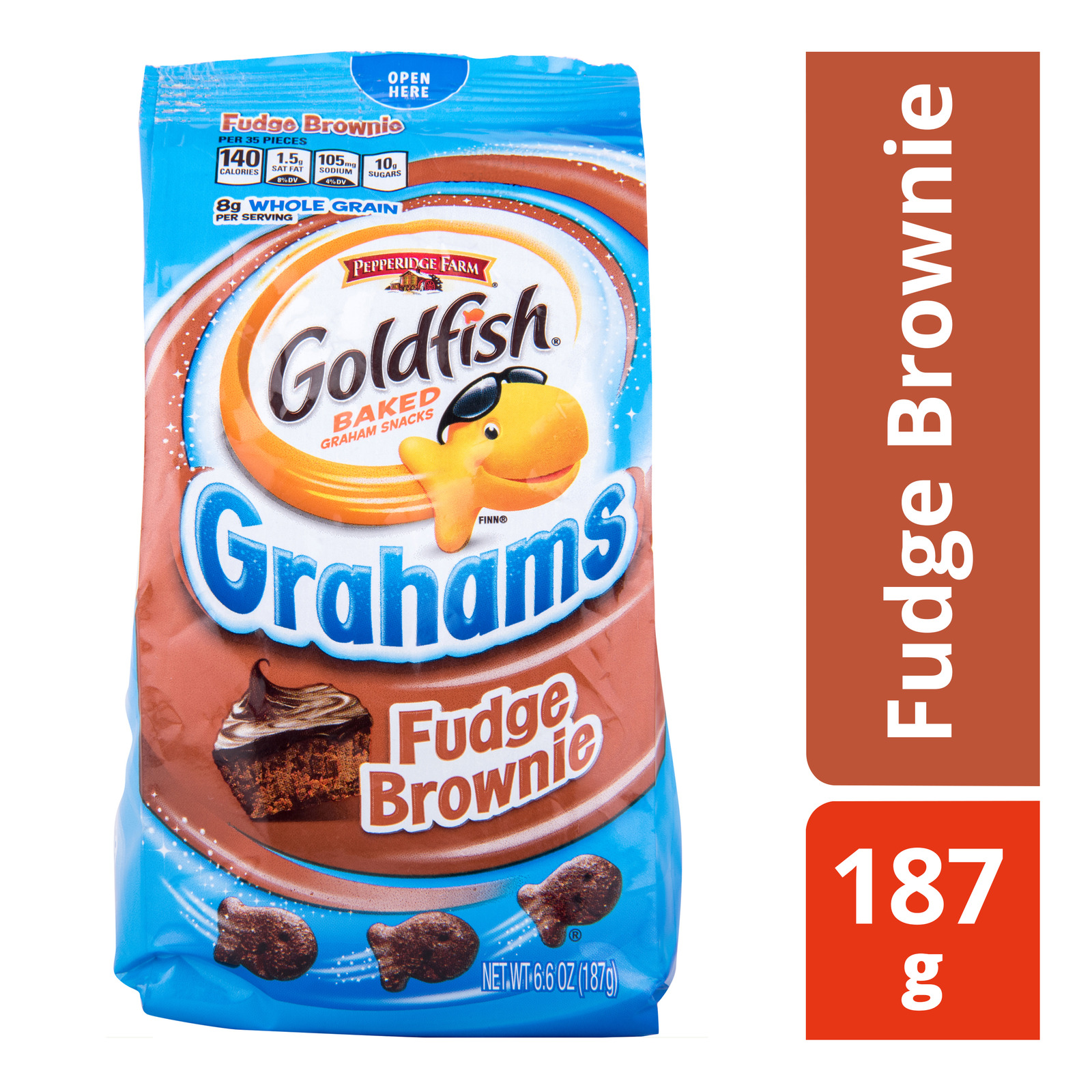 Pepperidge Farm Goldfish Baked Grahams - Fudge Brownie