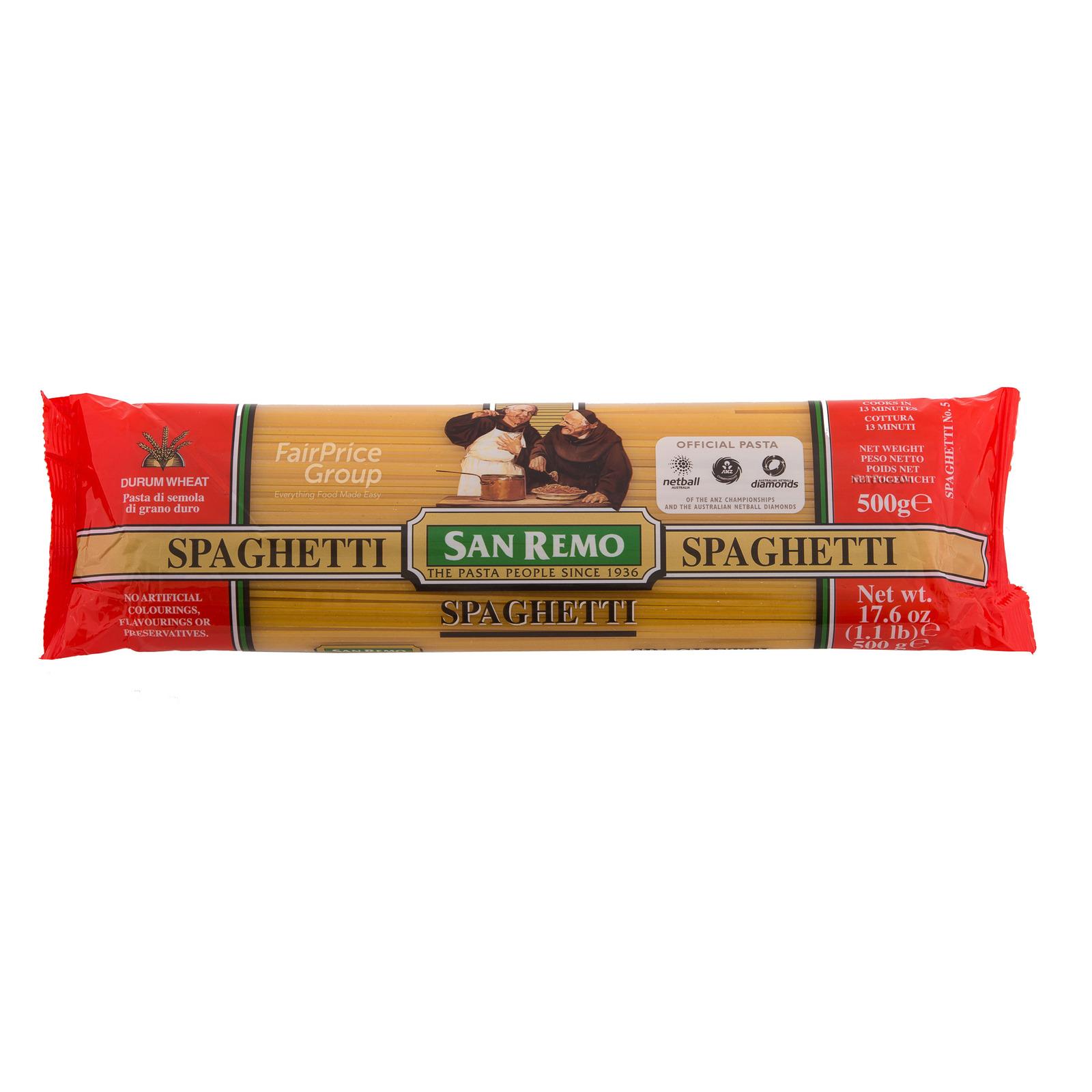 San Remo Pasta Spaghetti (NO.5)500G
