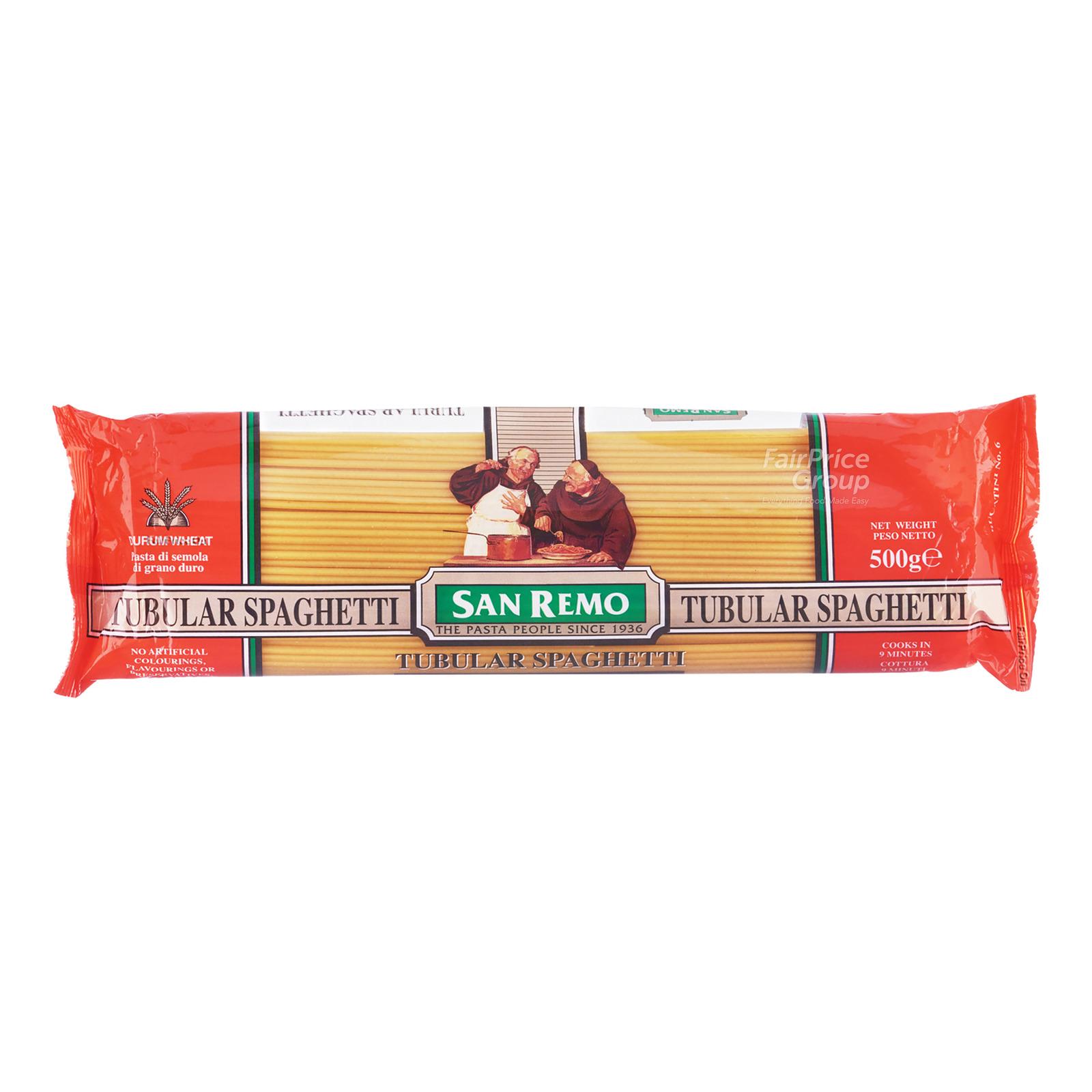 San Remo Pasta - Tubular Spaghetti