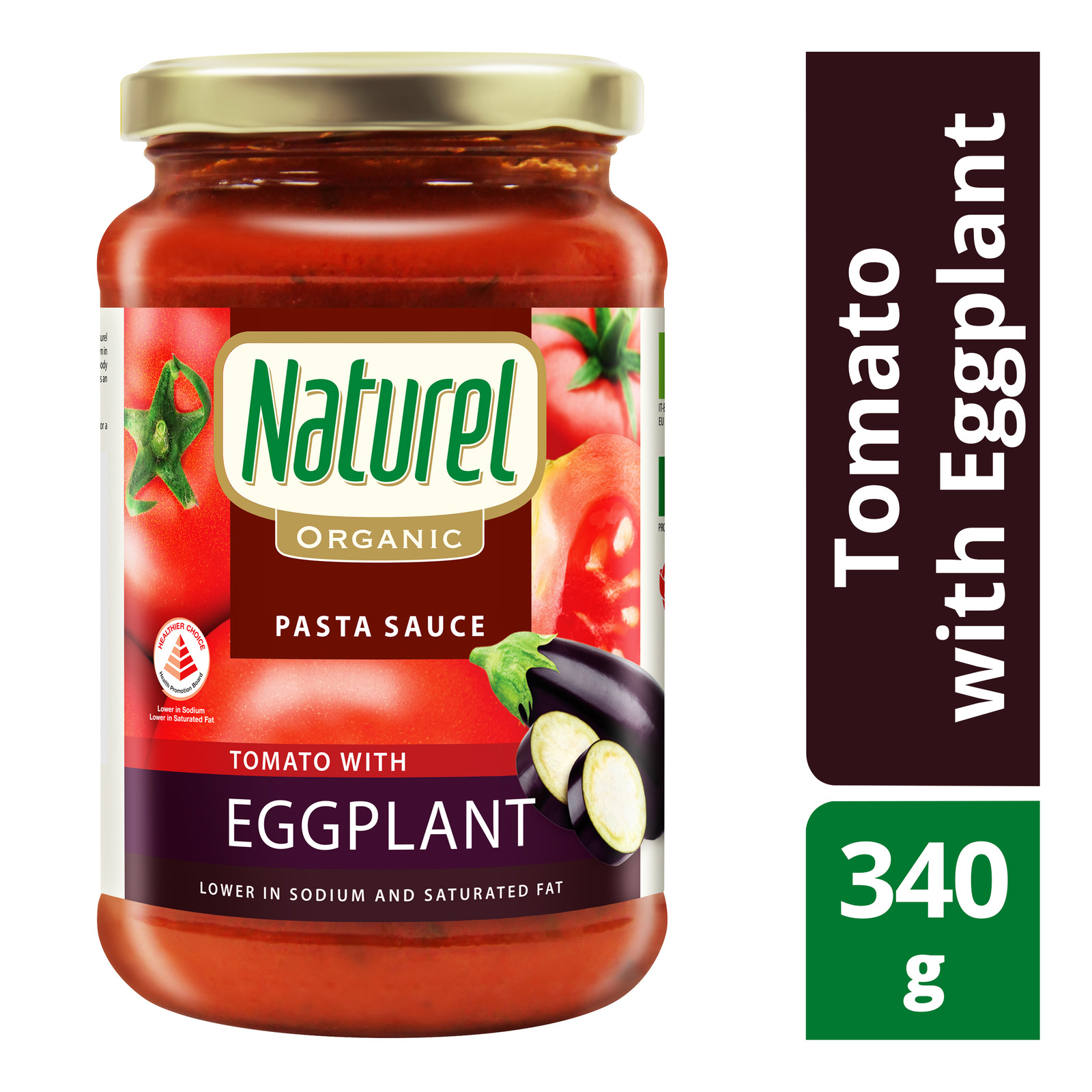 Naturel Organic Pasta Sauce - Tomato with Eggplant