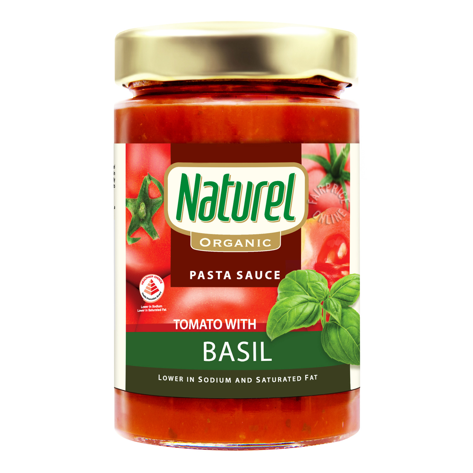 Naturel Organic Pasta Sauce - Tomato with Basil