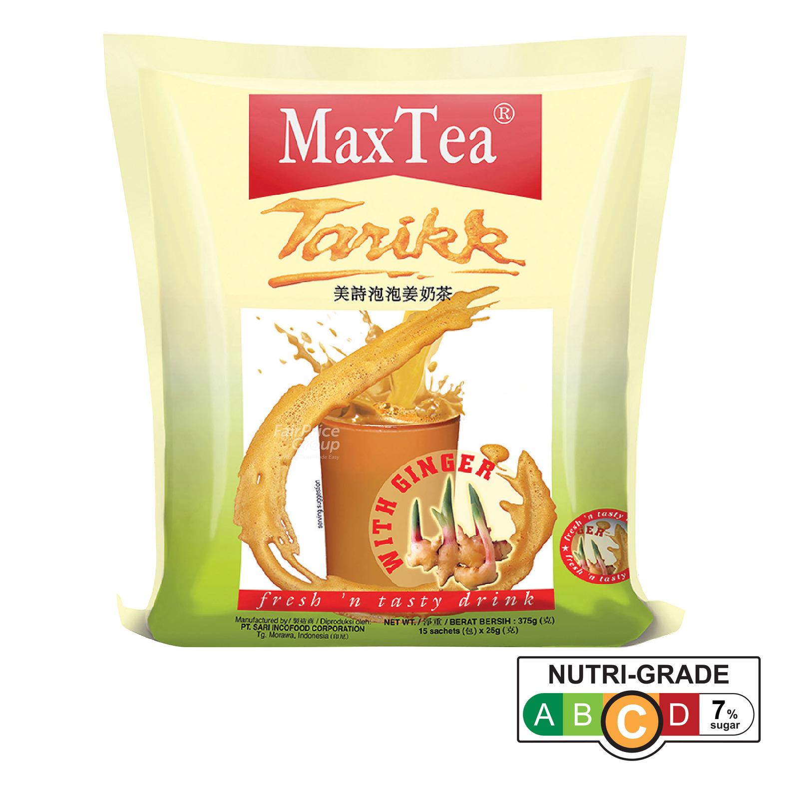 MaxTea Instant Drink - Tarikk with Ginger