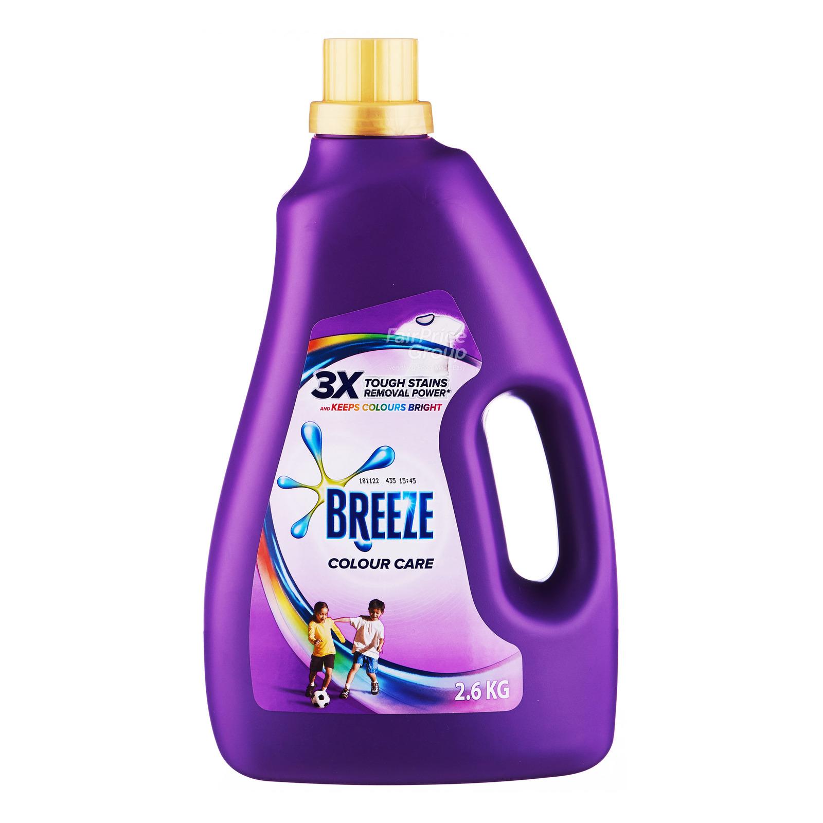 BREEZE Liquid Detergent Colour Care 2.6kg