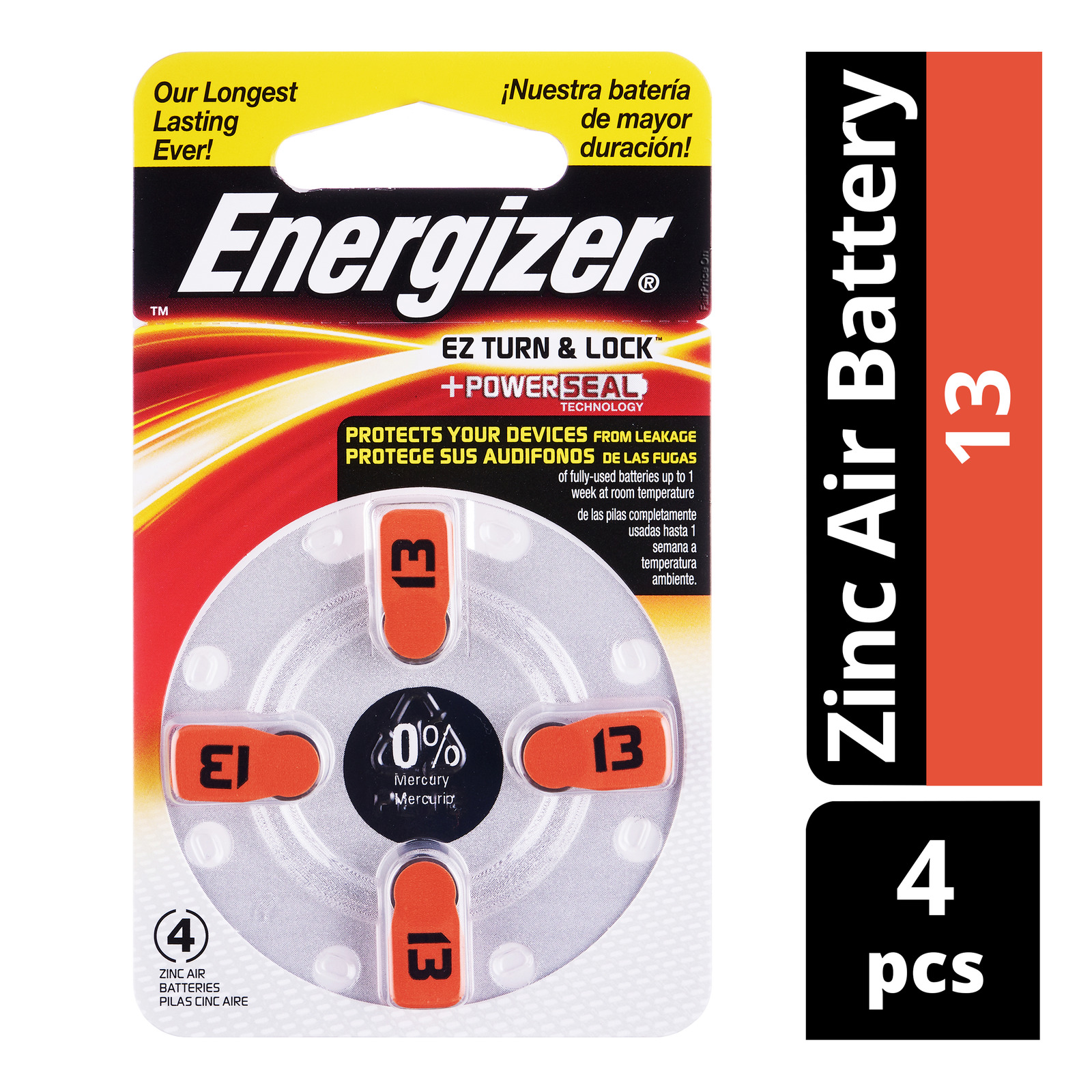 Energizer Zinc Air Battery - 13