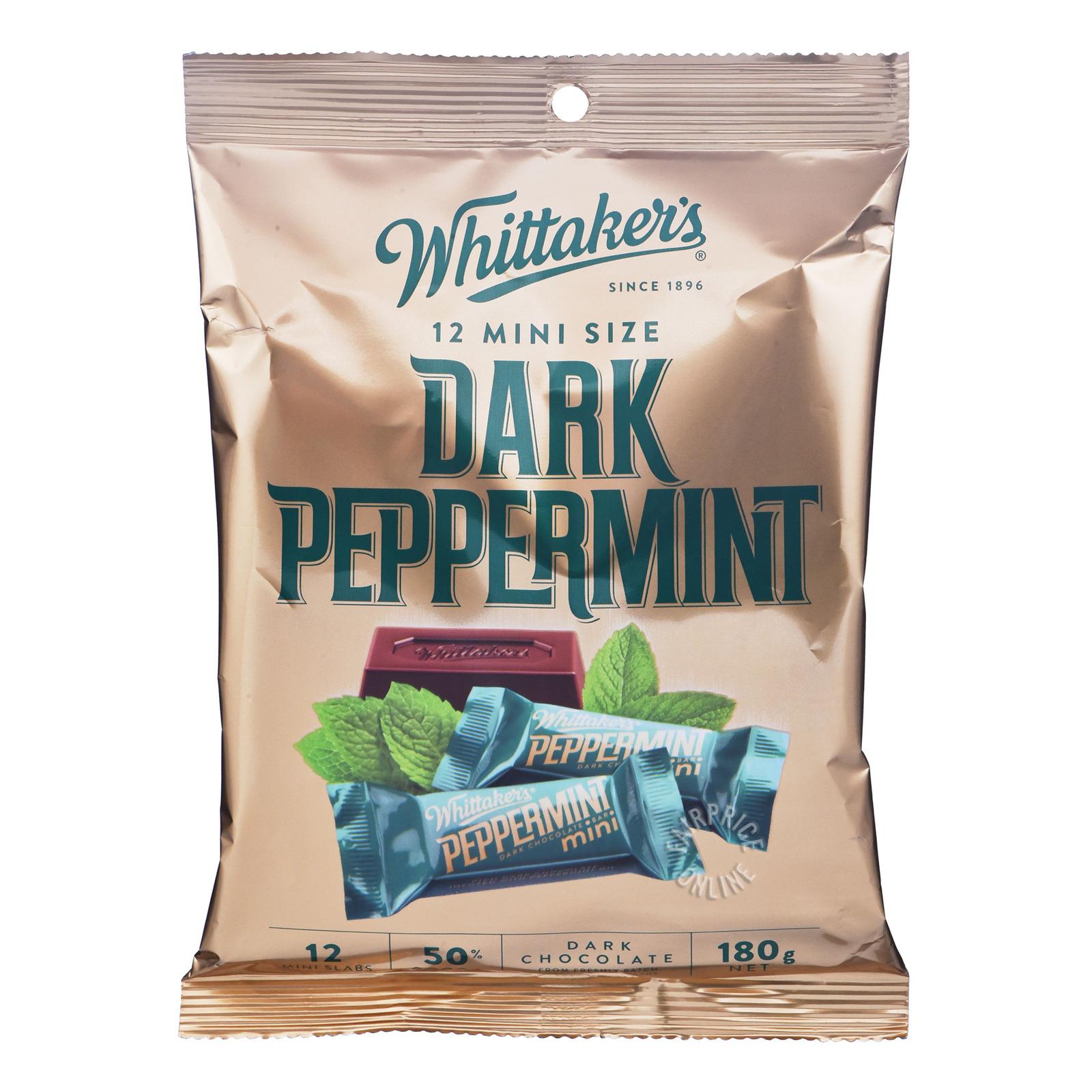 Whittaker's Mini Dark Chocolate Bar - Dark Peppermint