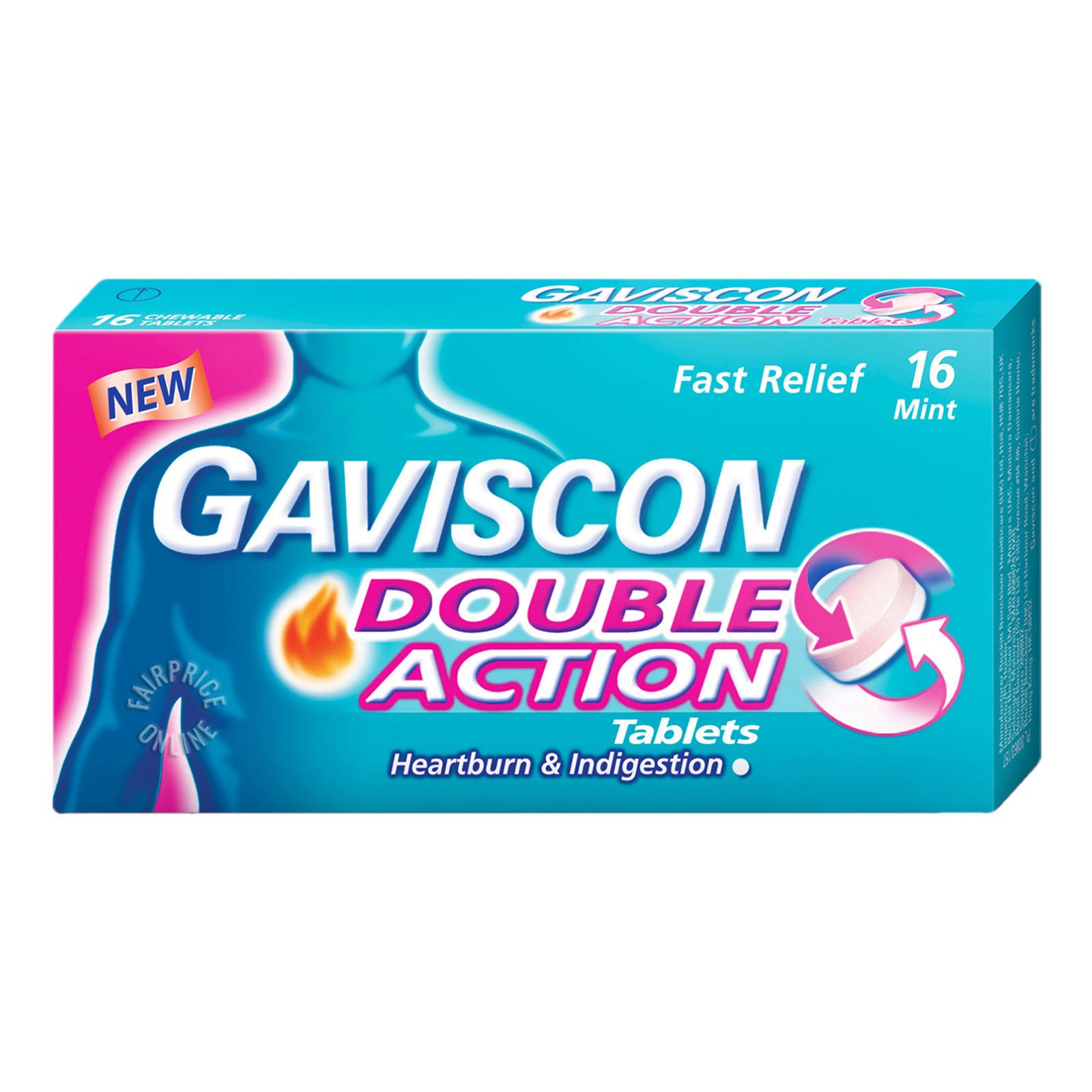 Gaviscon Double Action Tablets - Mint