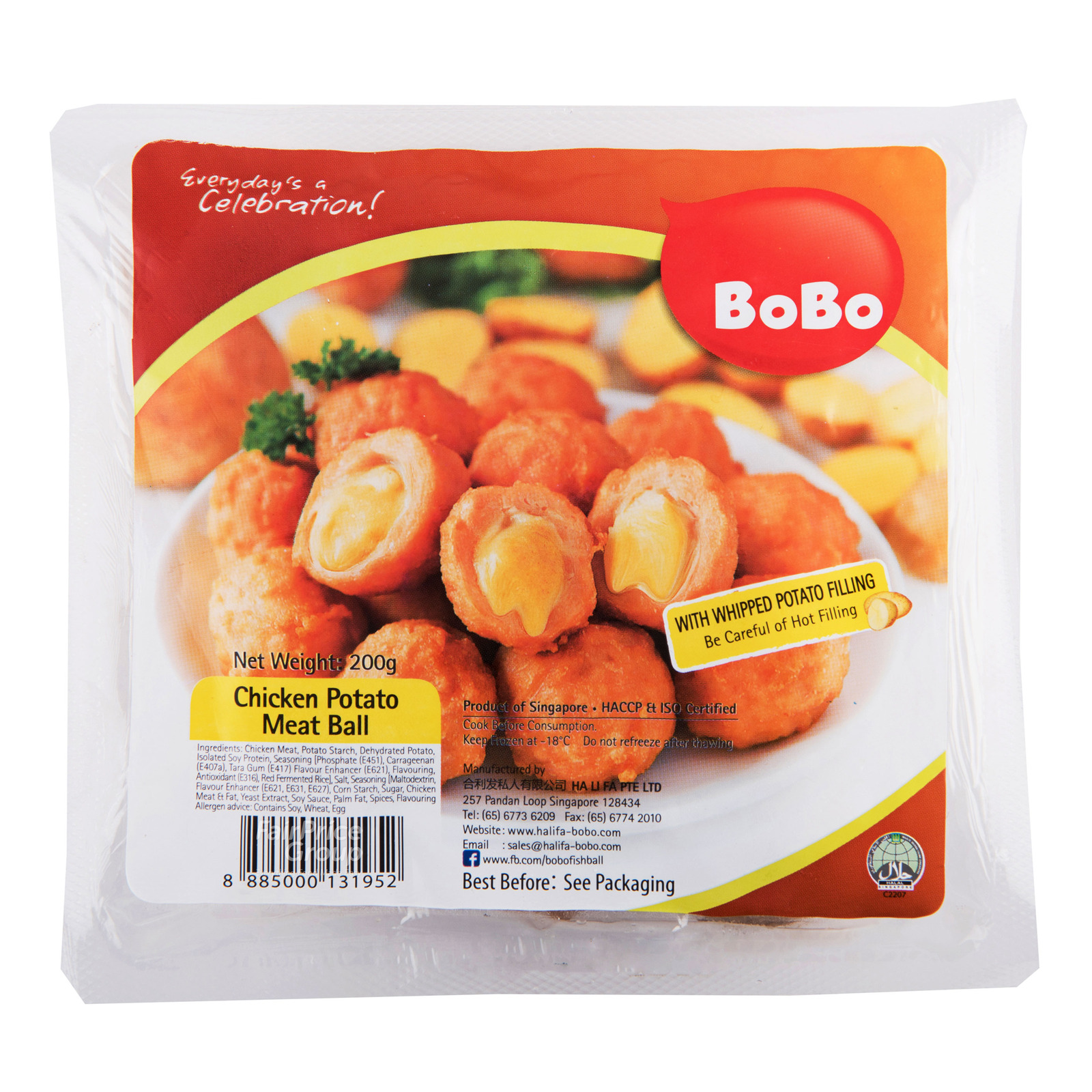 BoBo Frozen Chicken Meat Ball - Potato