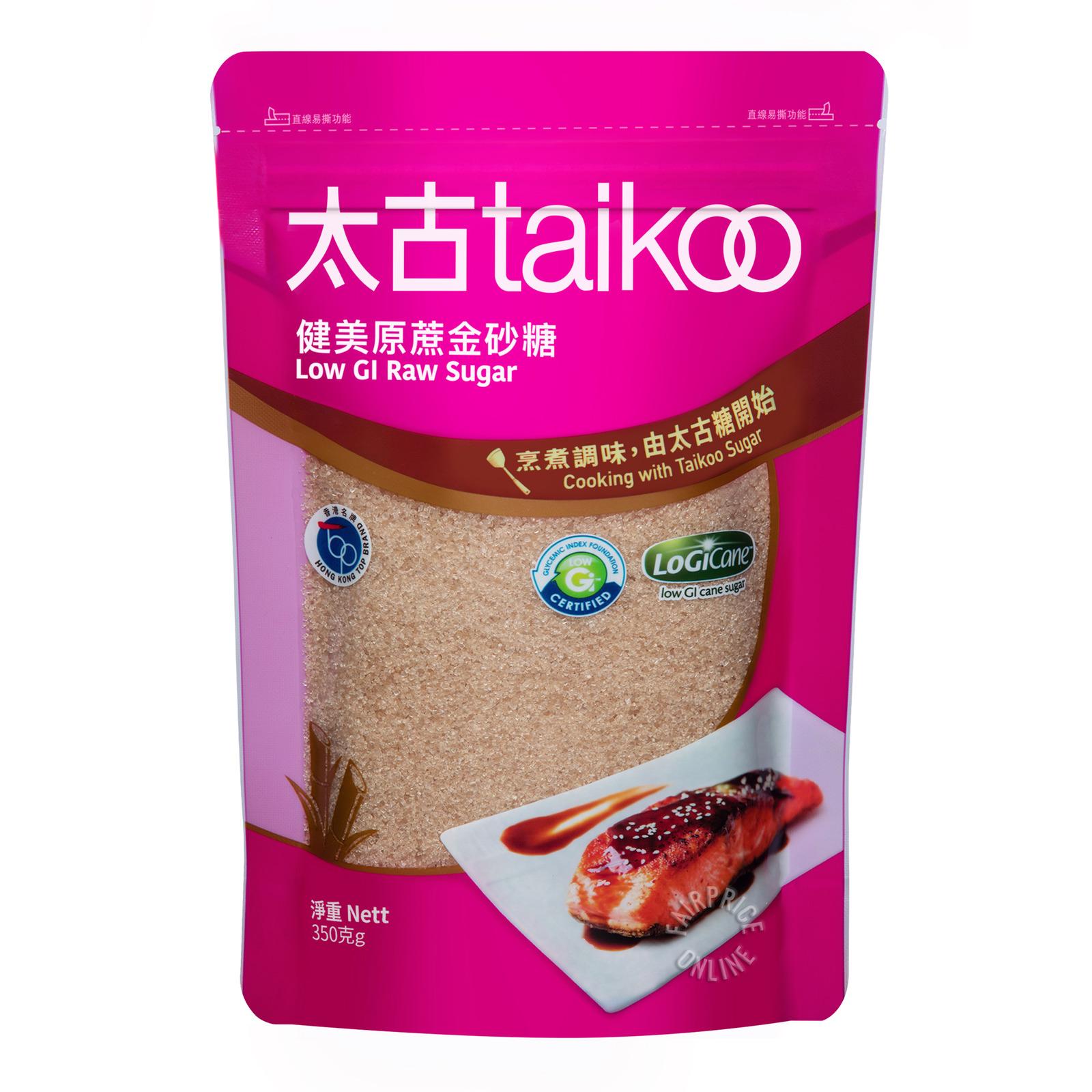 TAIKOO Low Gi Raw Sugar 350g