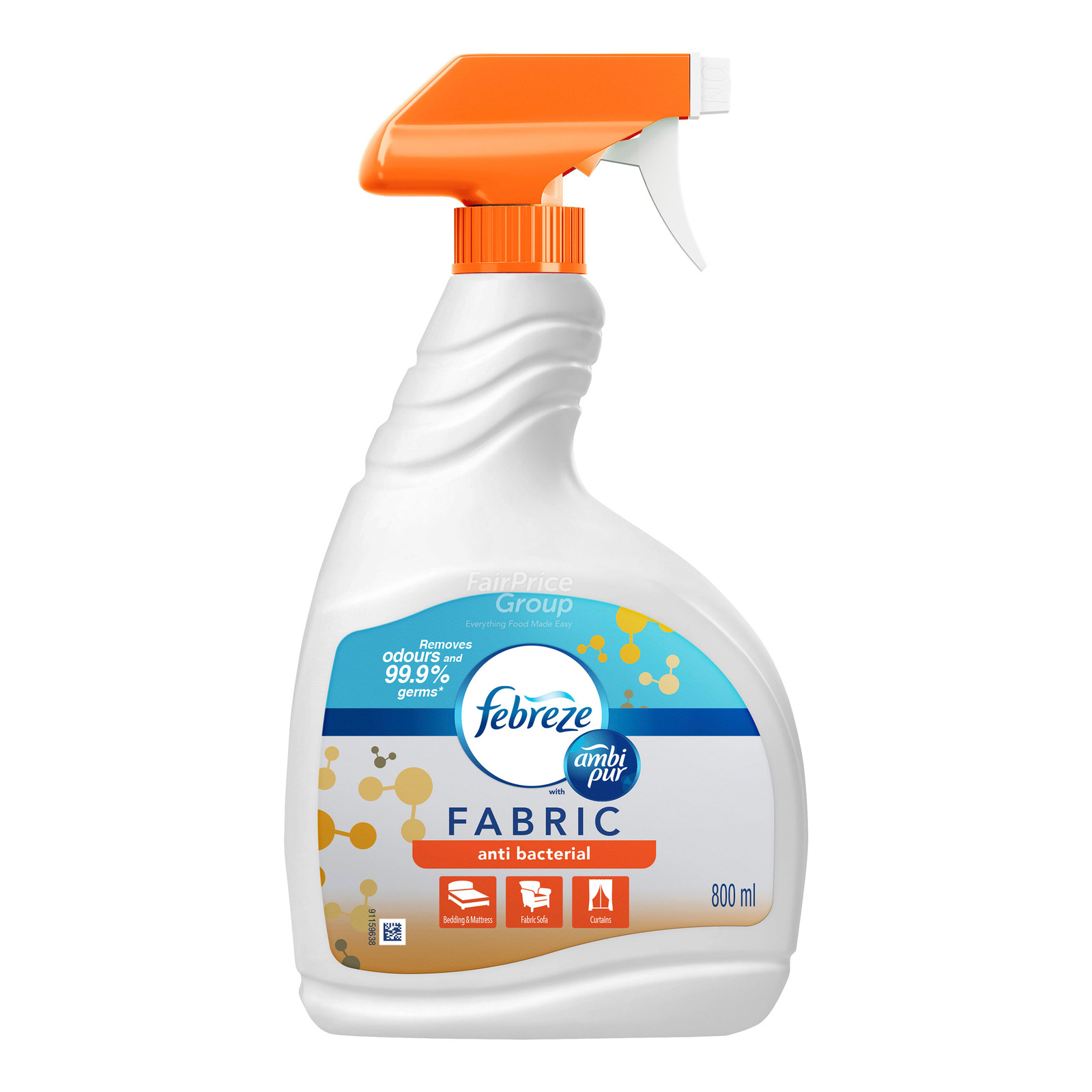 Febreze Fabric Refresher Spray - Anti-Bacterial