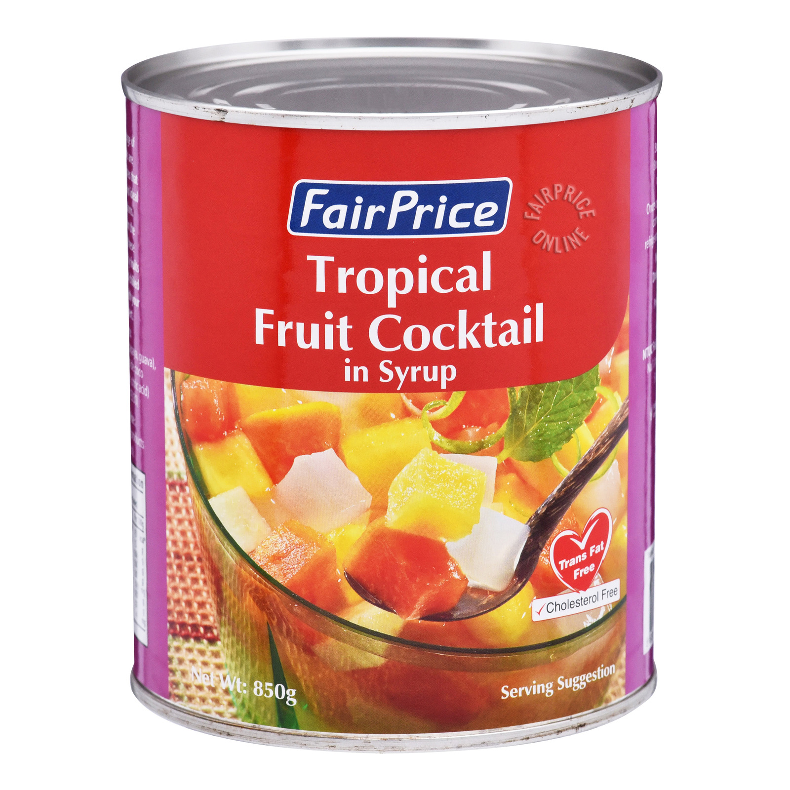 FairPrice Can Fruit in Syrup - Cocktail (Tropical)