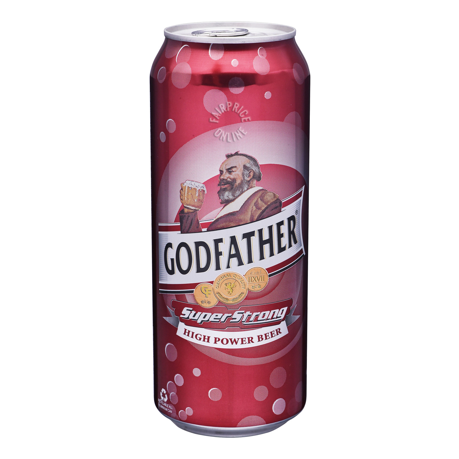 Godfather High Power Can Beer - Super Strong