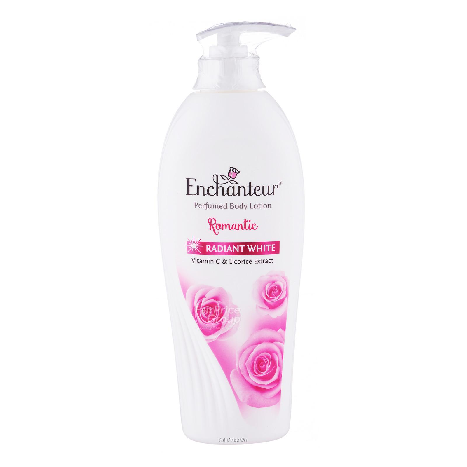 Enchanteur Whitening Perfumed Body Lotion - Romantic