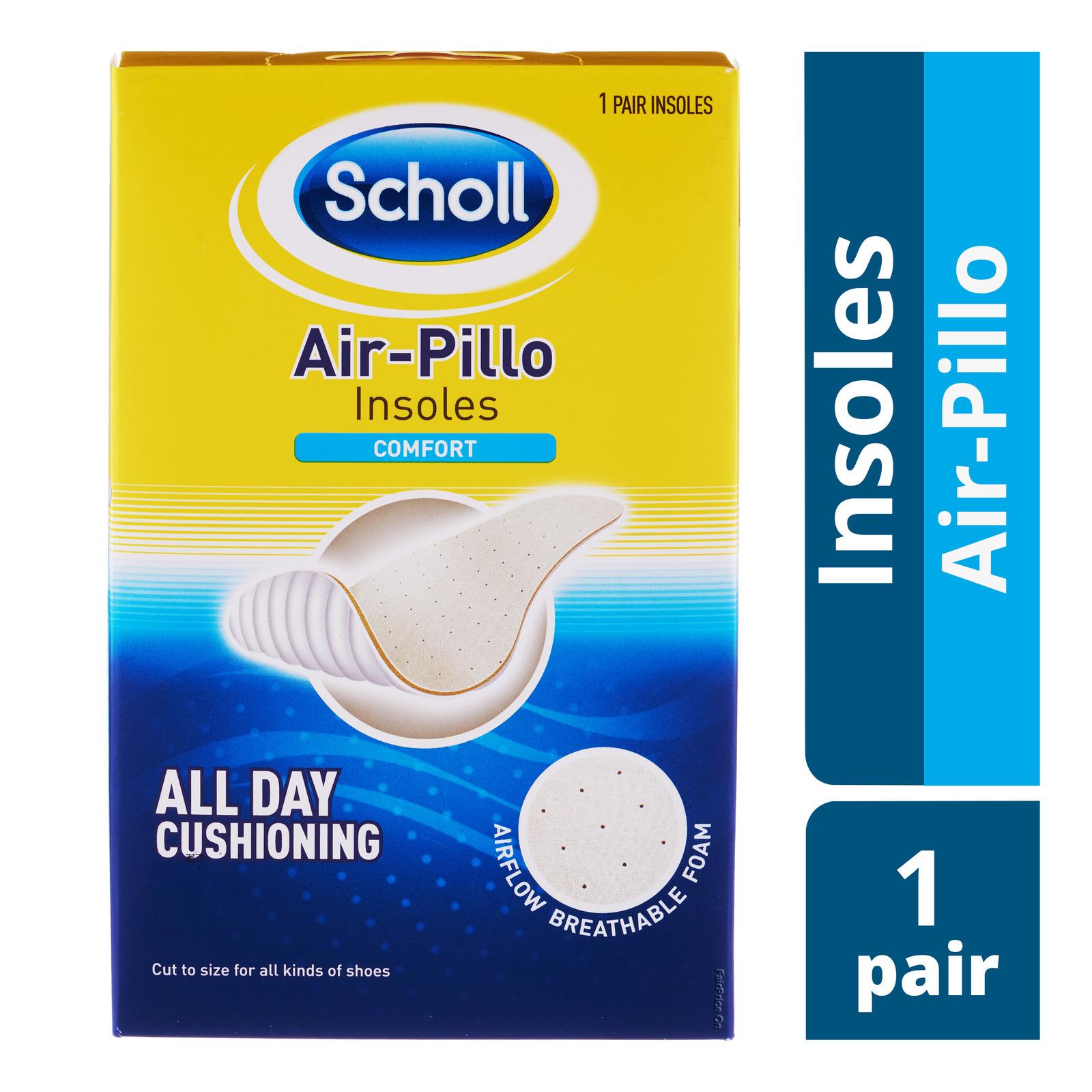 SCHOLL Air Pillo Insoles 1 Pair