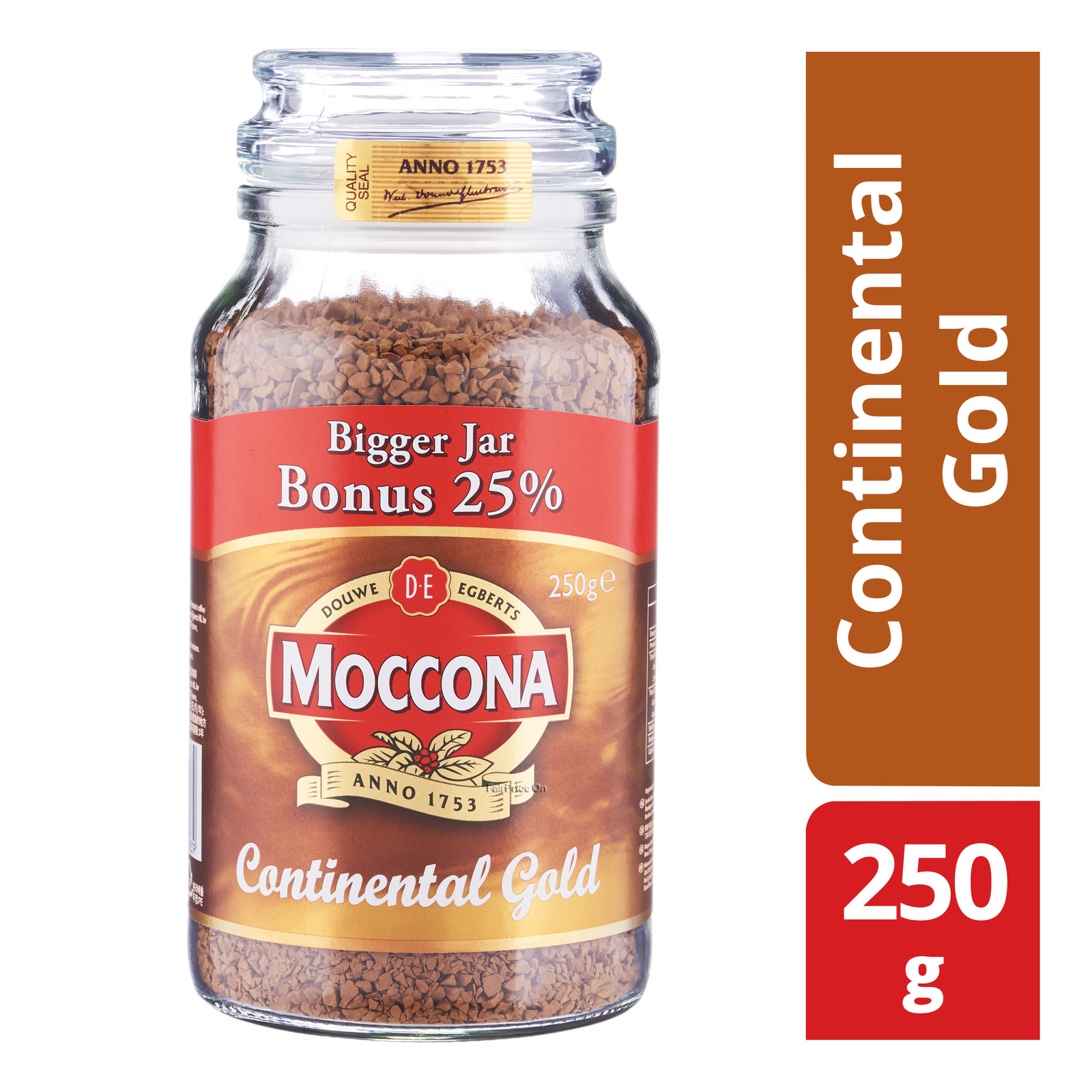 Moccona Instant Coffee - Continental Gold