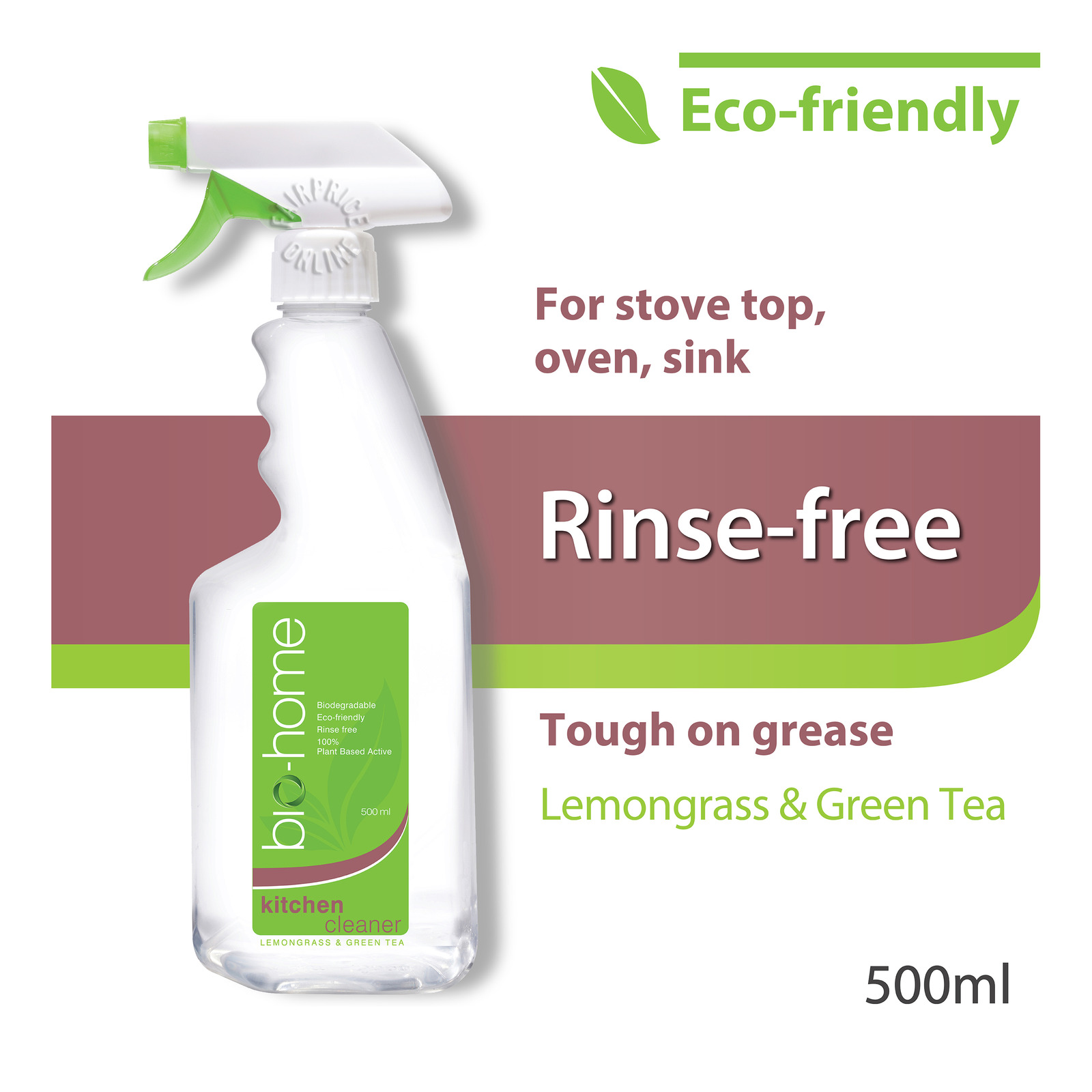 Bio-Home Kitchen Cleaner - Lemongrass & Green Tea