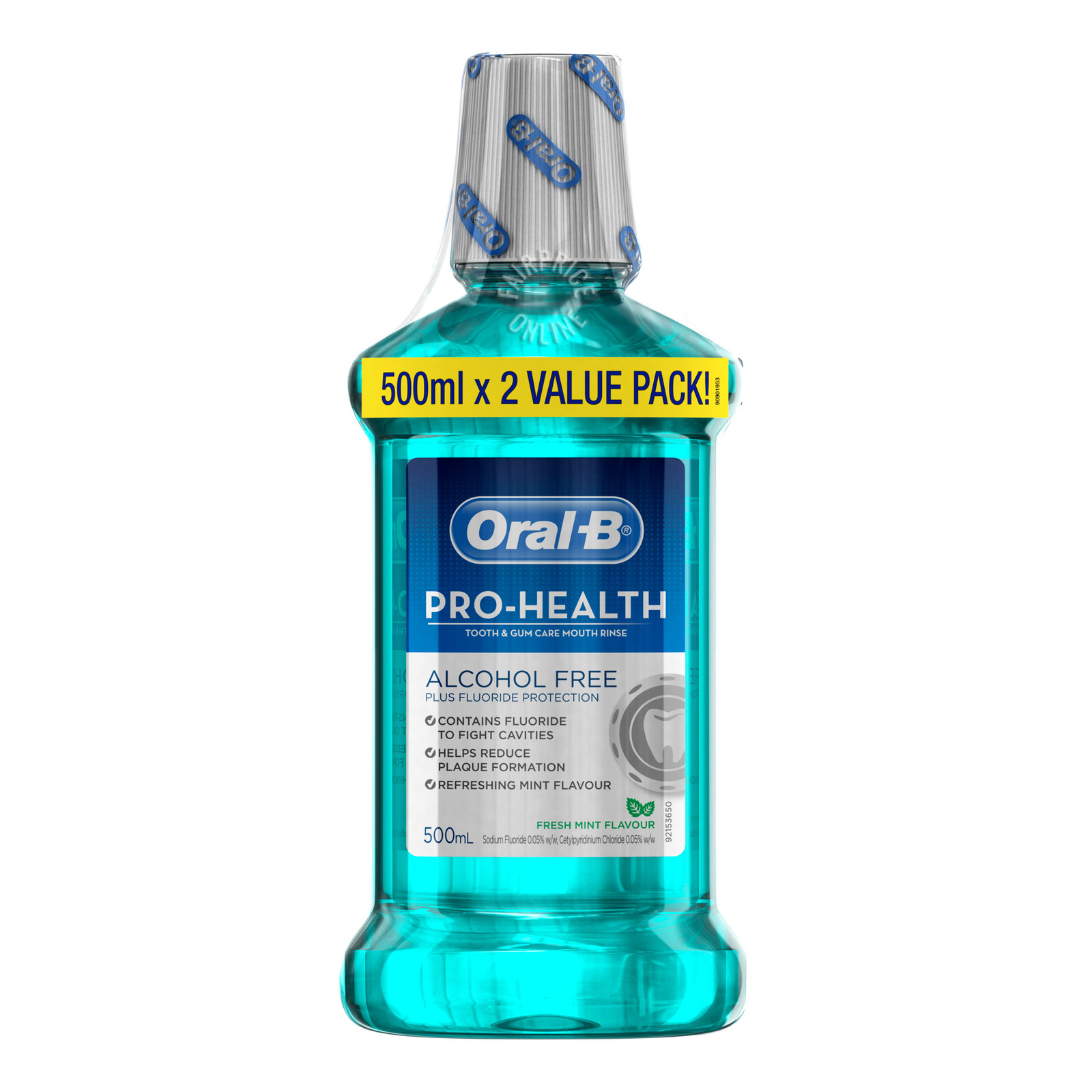 Oral-B Pro-Health Tooth & Gum Care Mouth Rinse - Fresh Mint