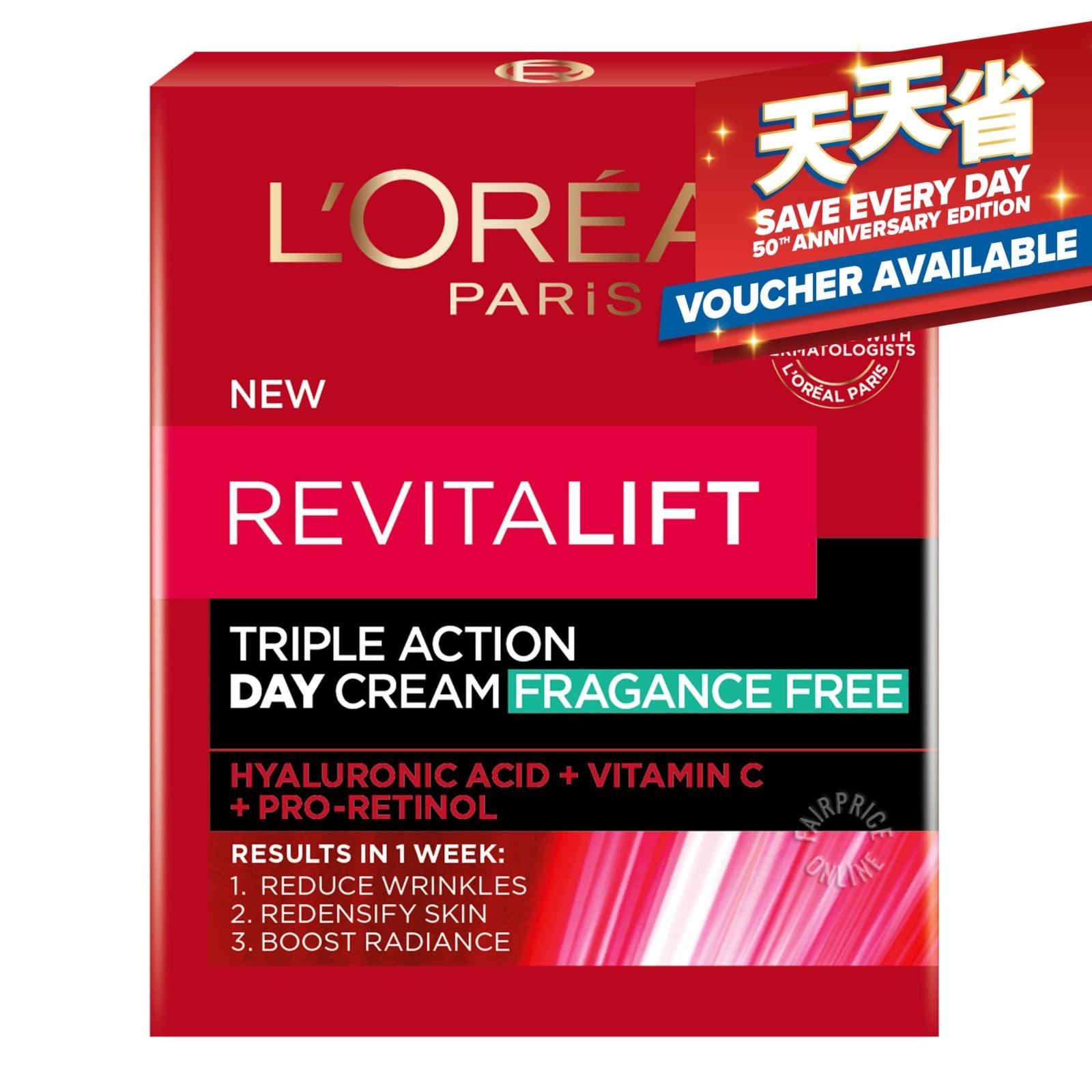 L'Oreal Paris Revitalift Laser X3 Day Cream