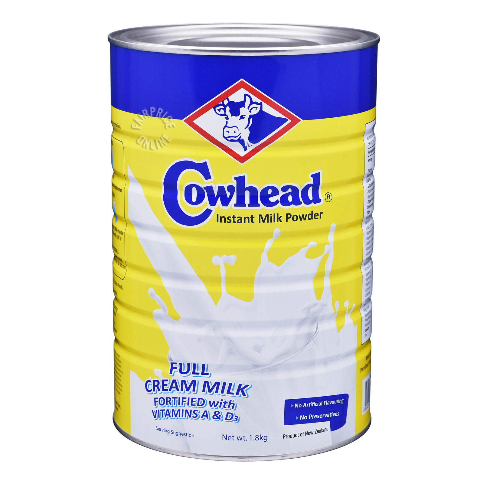 Cowhead Instant Milk Powder - Full Cream