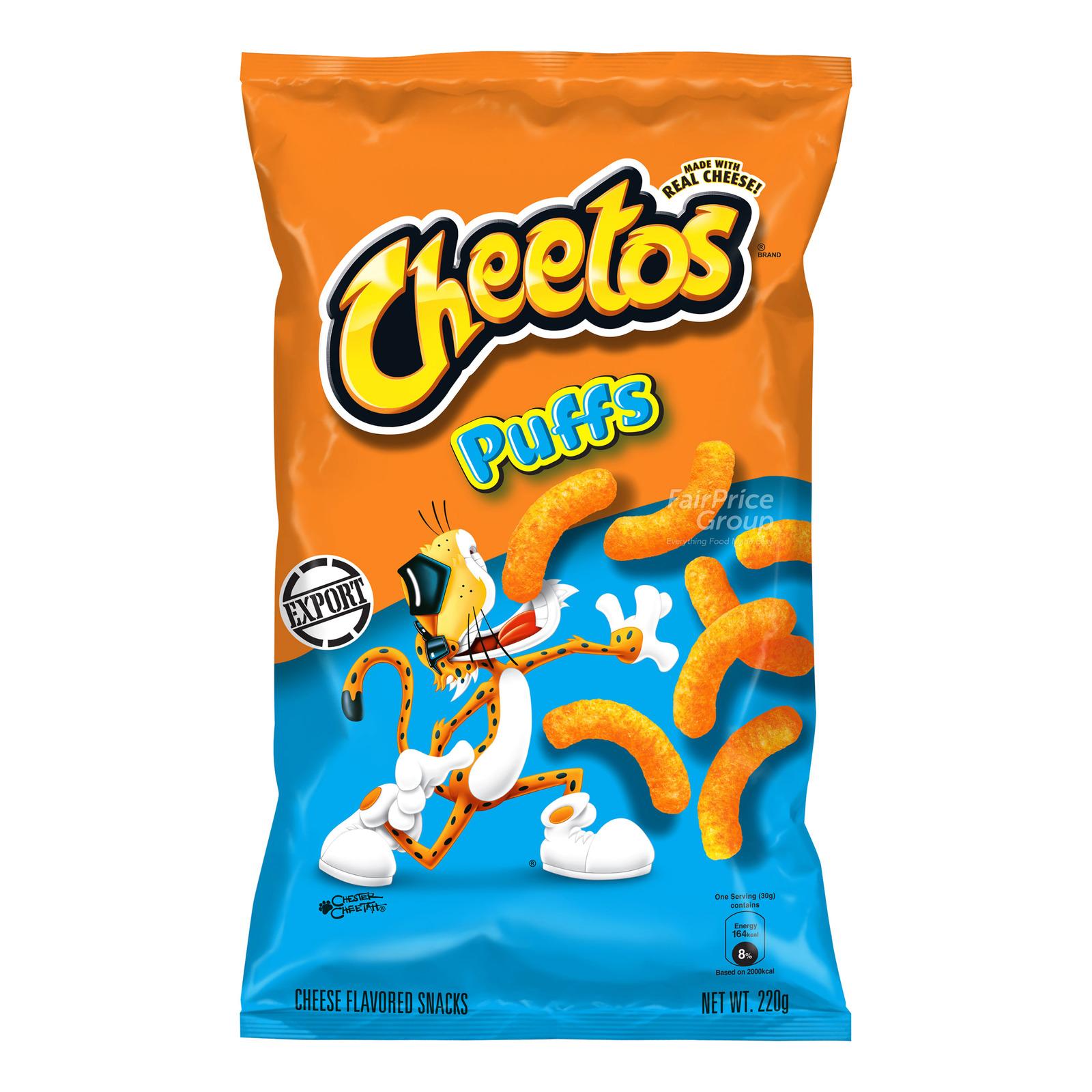 Cheetos Cheese Flavoured Snacks - Puffs