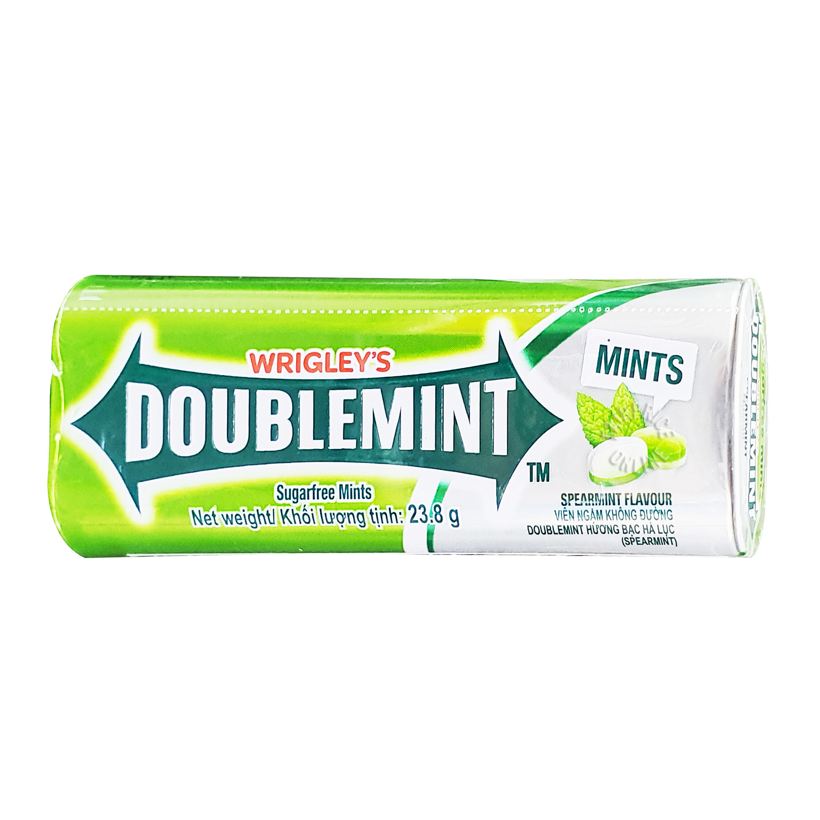 Wrigley's Doublemint Sugarfree Mints - Spearmint
