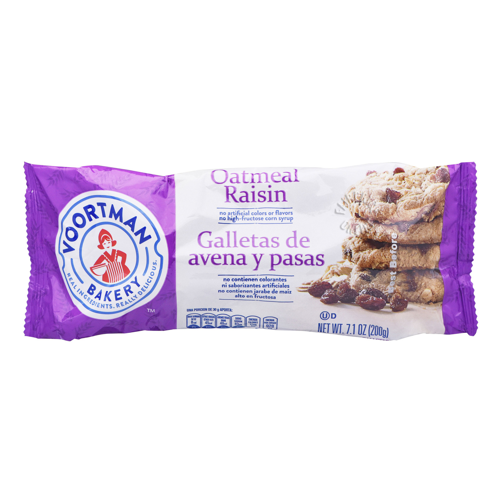 Voortman Cookies - Oatmeal Raisin