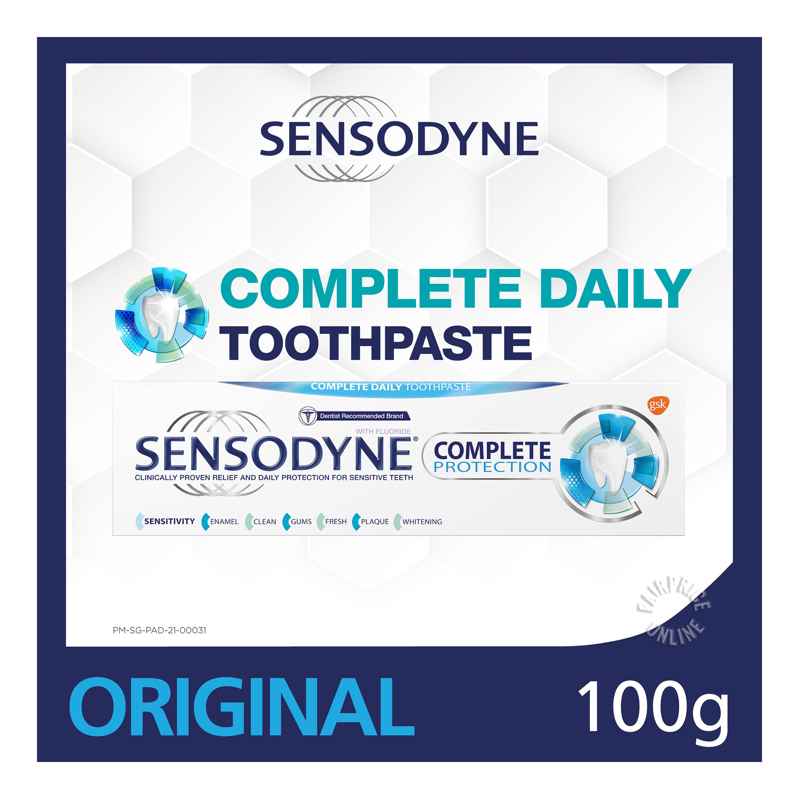 Sensodyne Toothpaste - Complete Protection