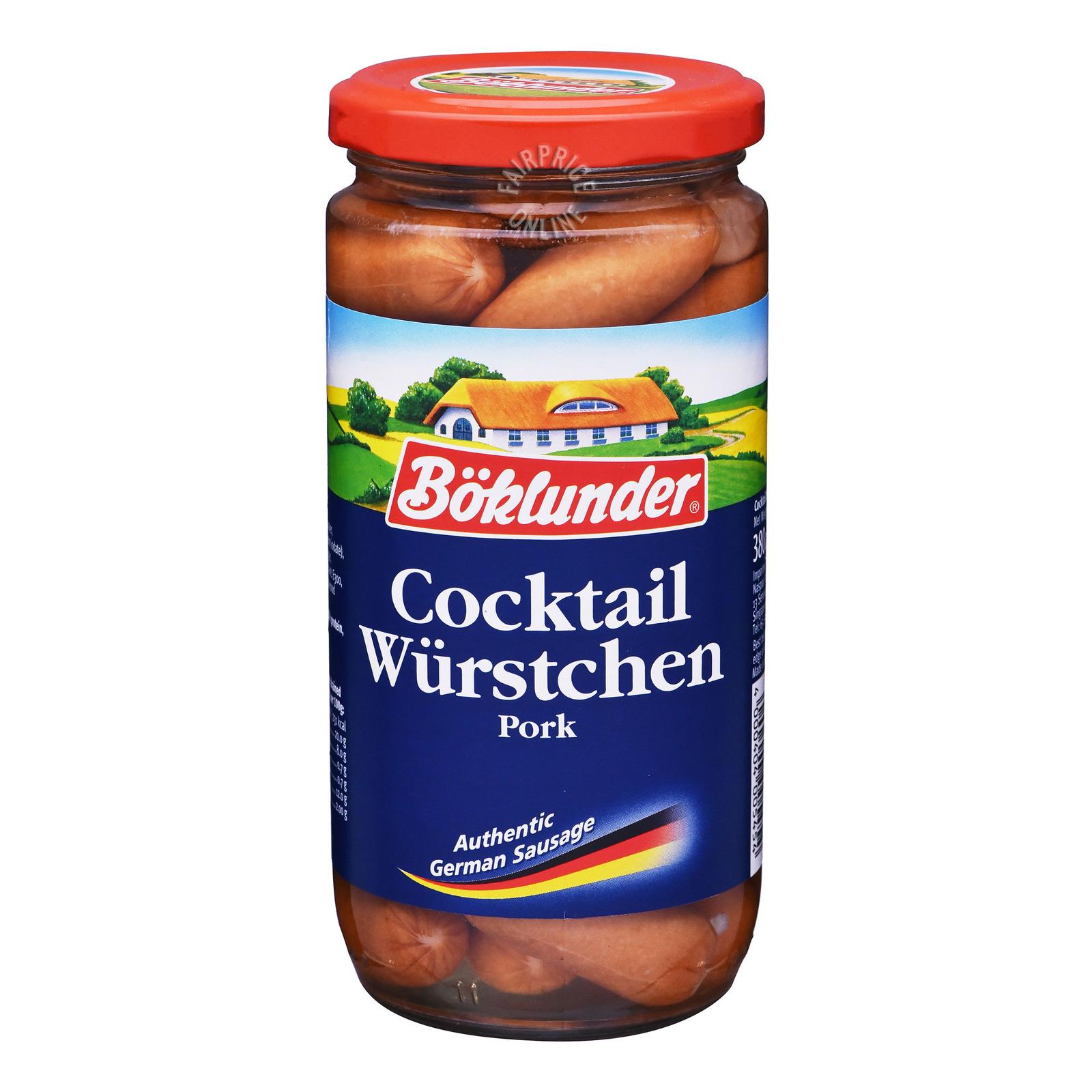 Boklunder German Sausages - Pork (Cocktail)