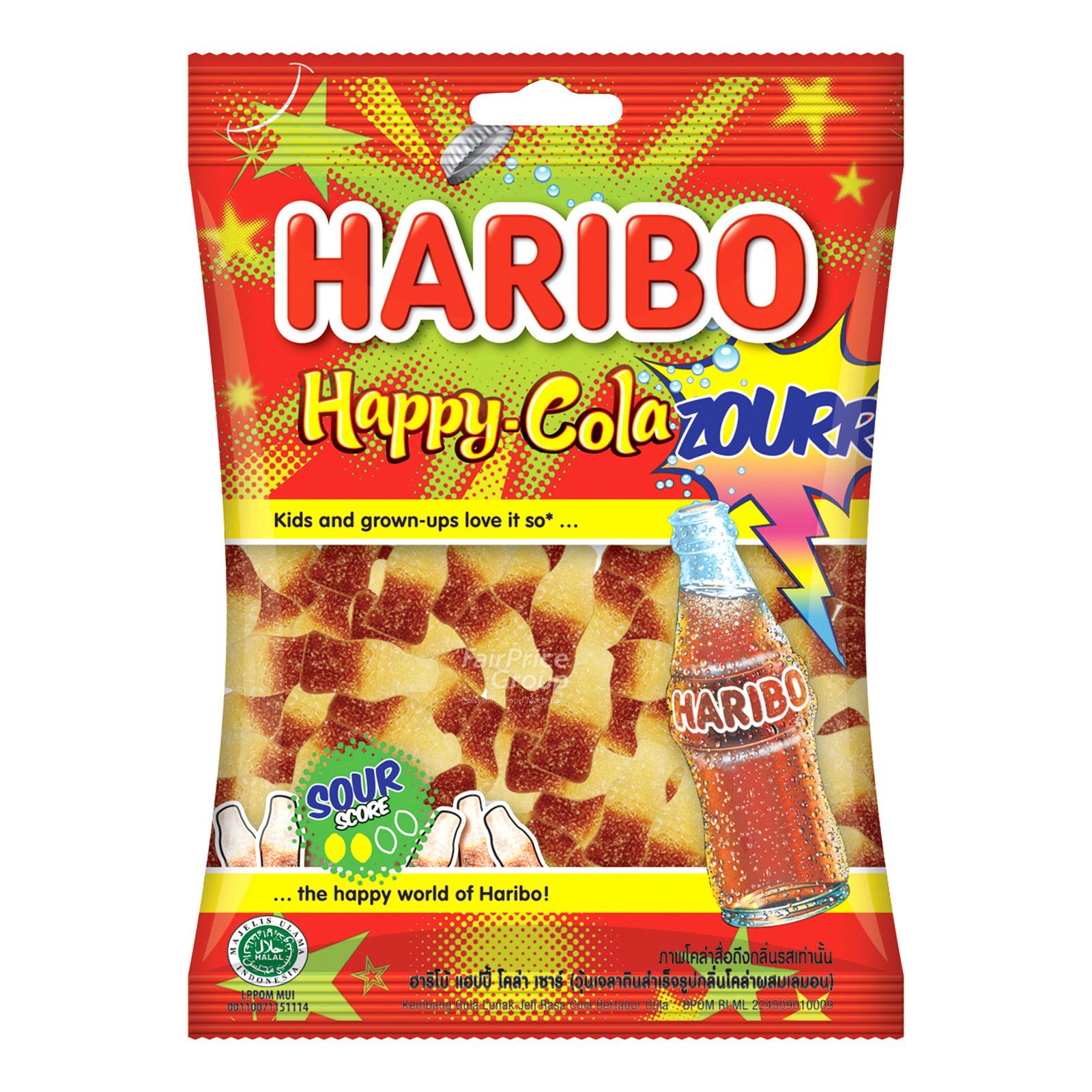 Haribo Gummy Candies - Happy Cola Zourr