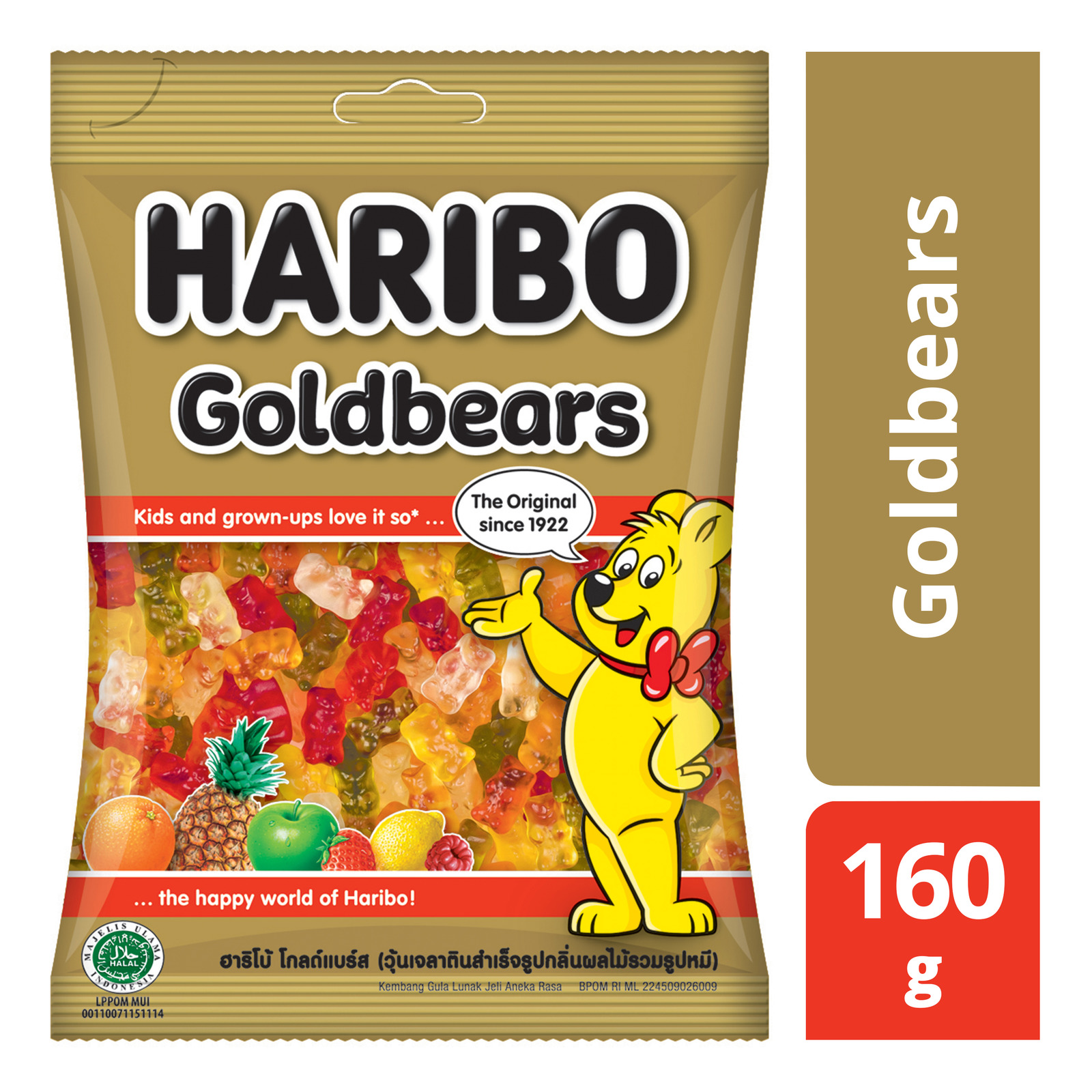 Haribo Gummy Candies - Goldbears