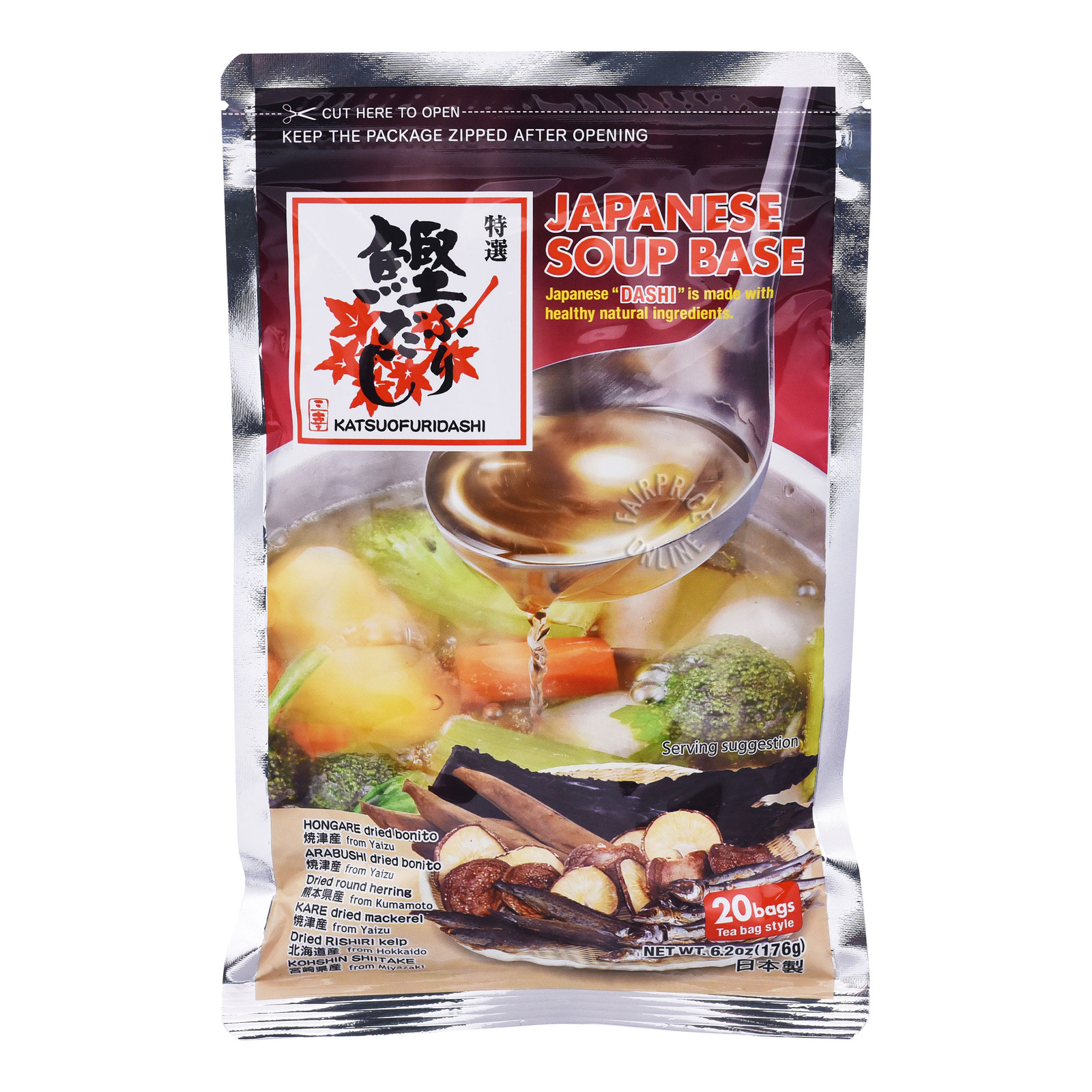 Sanko Katsuo Japan Soup Base (Teabag Style)