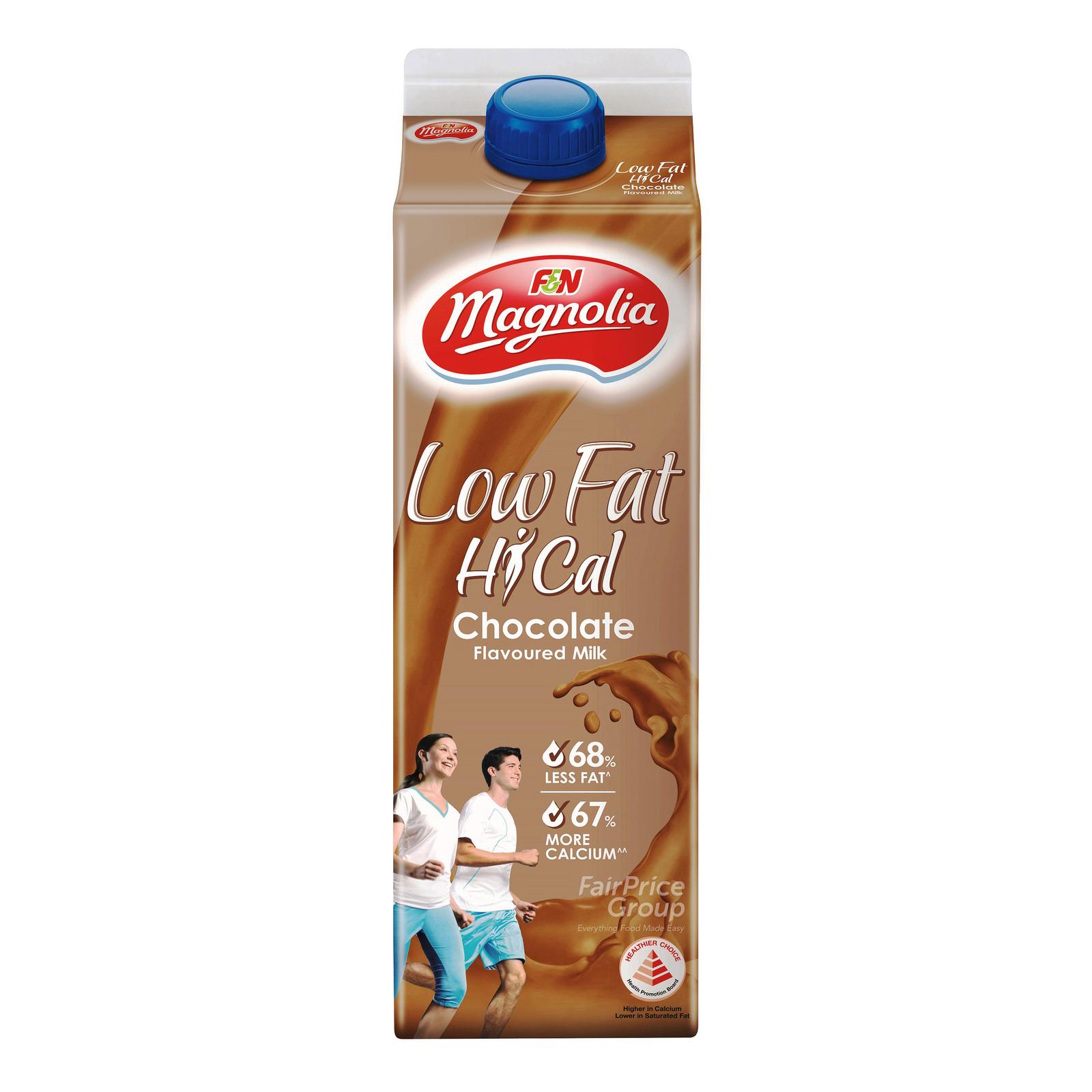 F&N Magnolia Low Fat Hi-Cal Milk - Chocolate